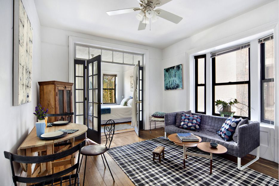 For $395K, a stylish Washington Heights co-op with garden views
