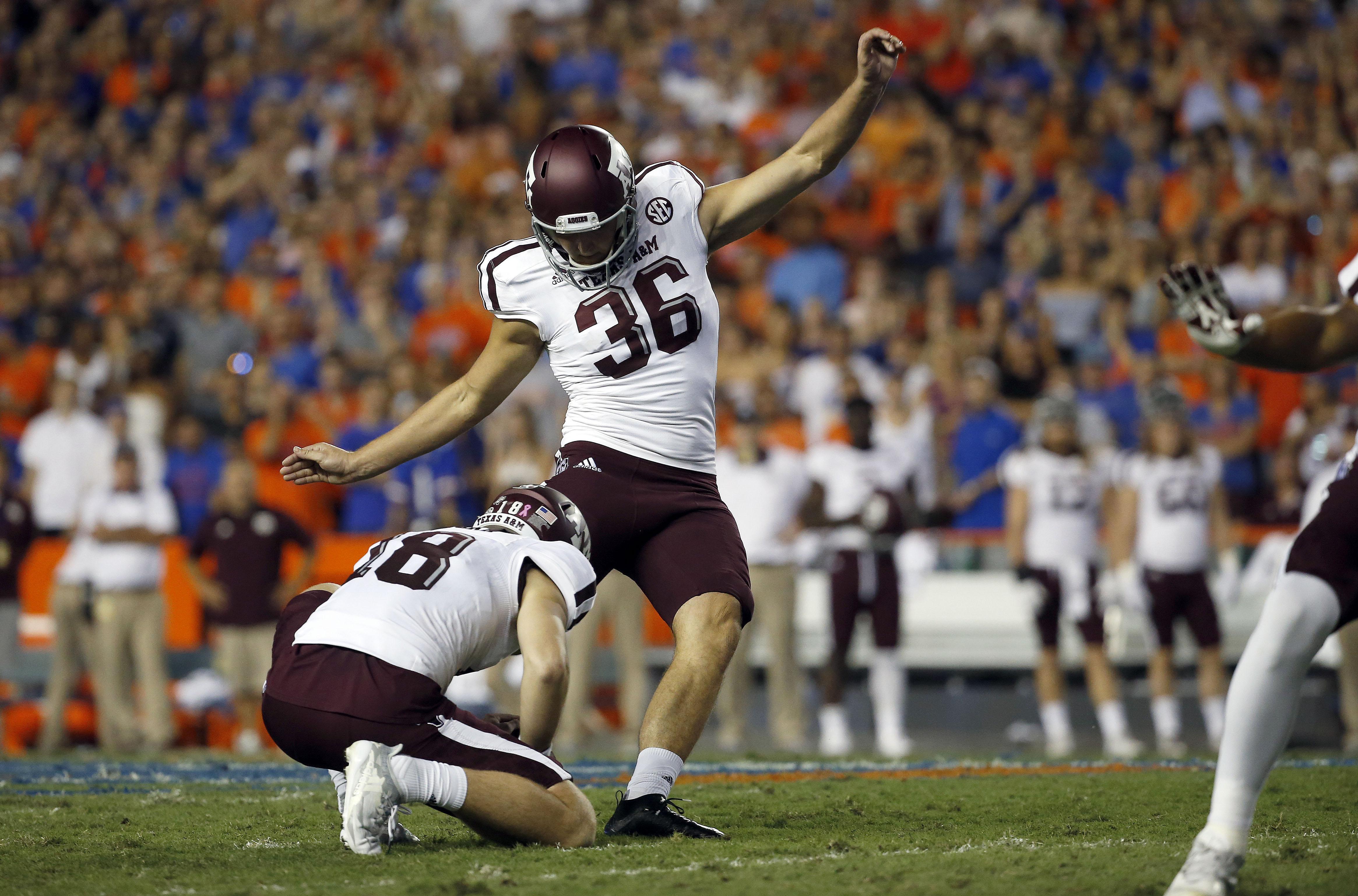 NCAA Football: Texas A&M at Florida