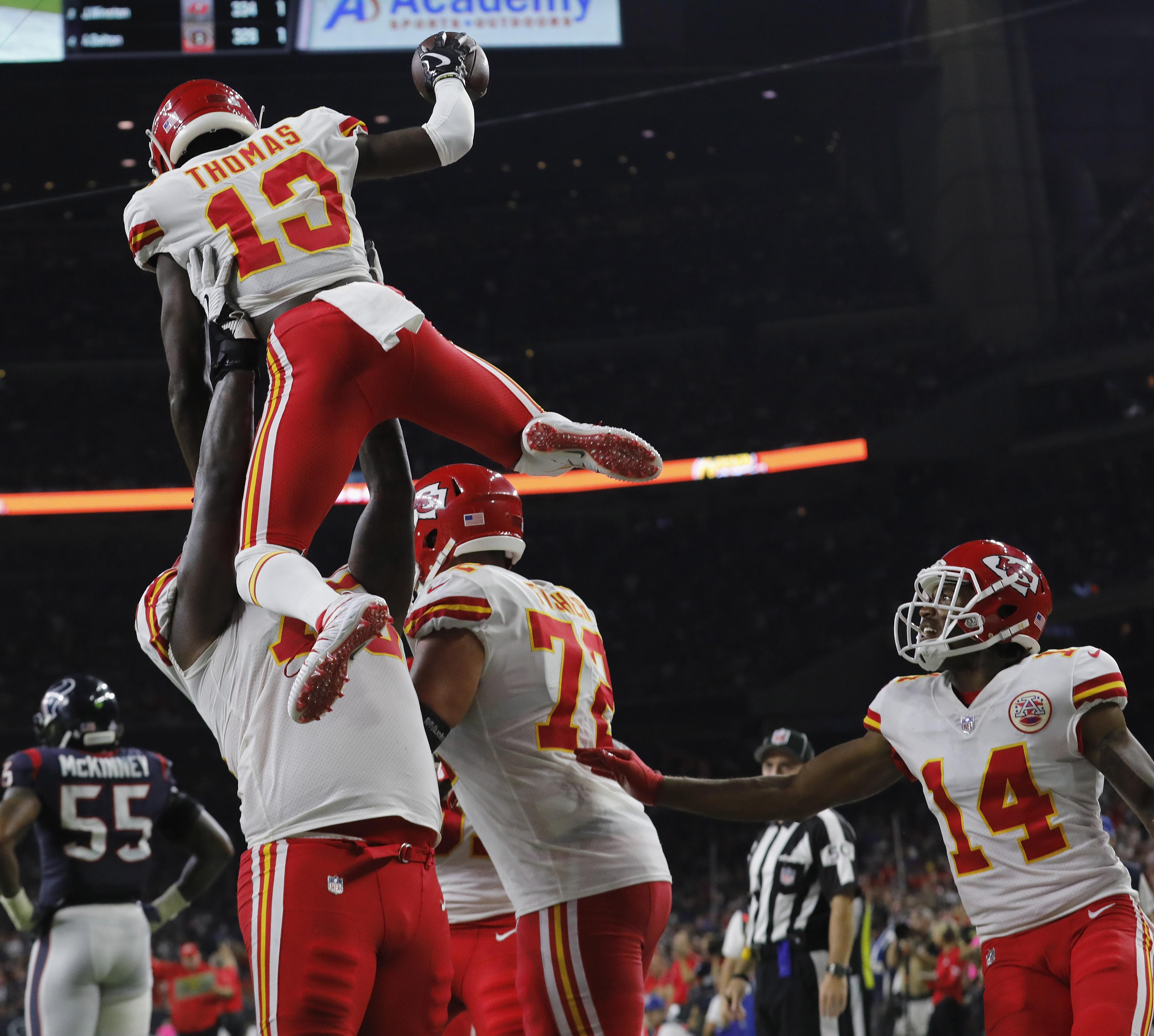 Kansas City Chiefs v Houston Texan