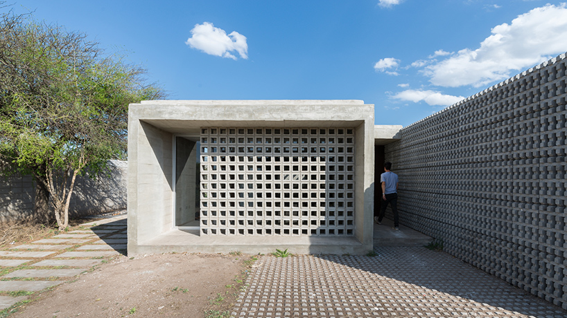 Modern Concrete Homes Designed As Low Cost Housing
