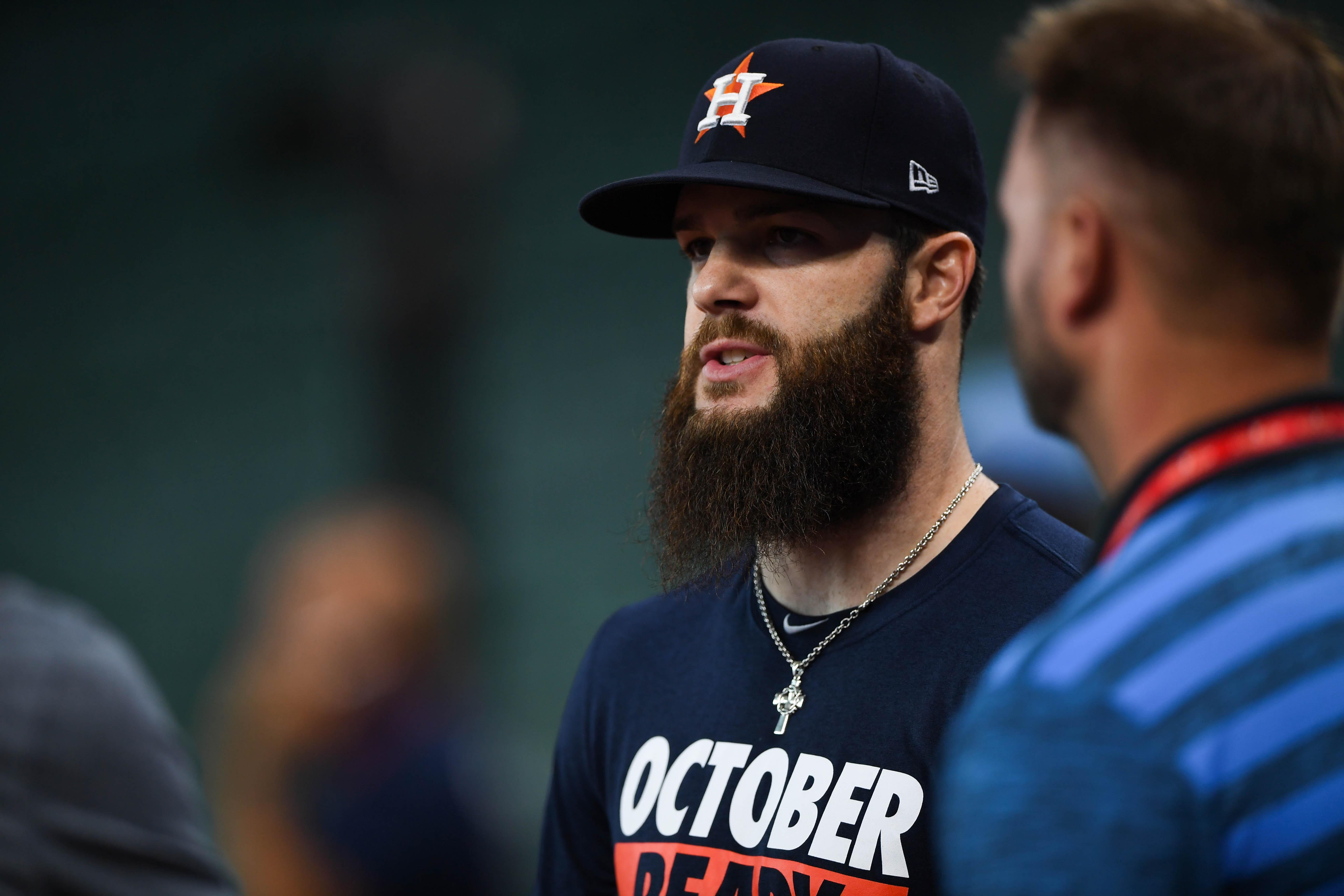 MLB: ALDS-Houston Astros Workouts
