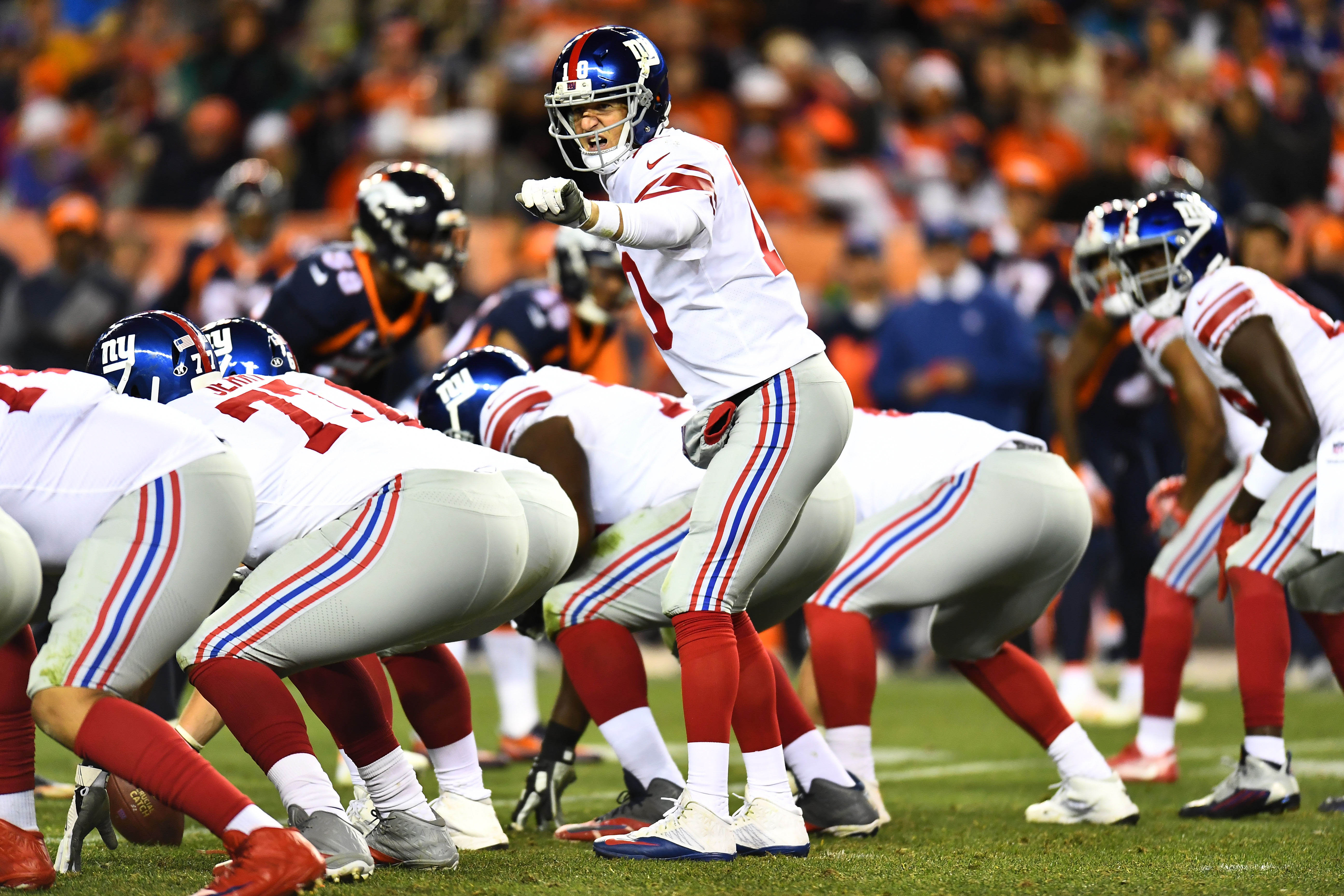 NFL: New York Giants at Denver Broncos