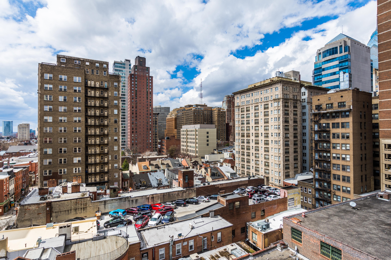Philadelphia towers in Center City.