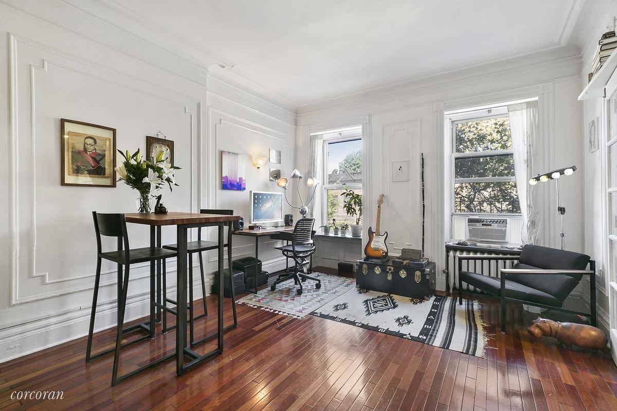 For $499K, a tiny but light-filled Park Slope one-bedroom