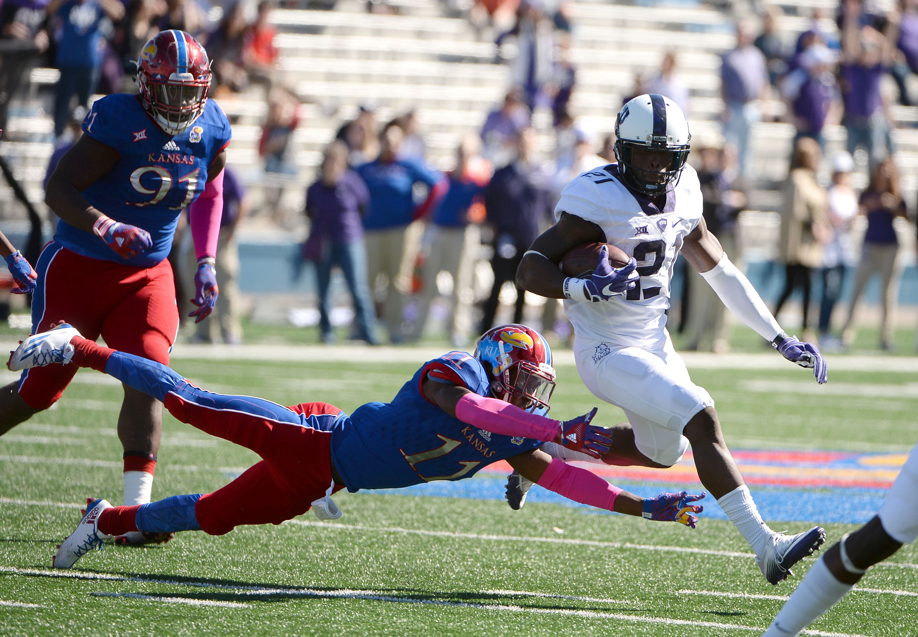 A win over the Frogs has always been just out of reach for KU