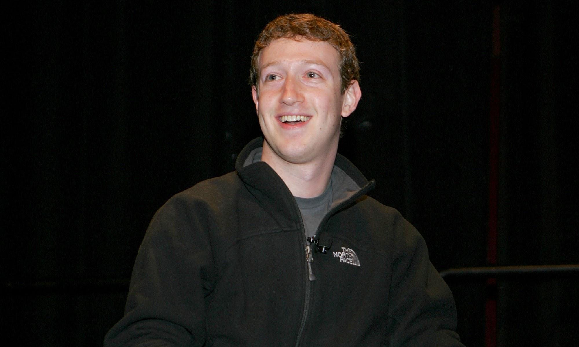 Mark Zuckerberg at SXSW in 2008