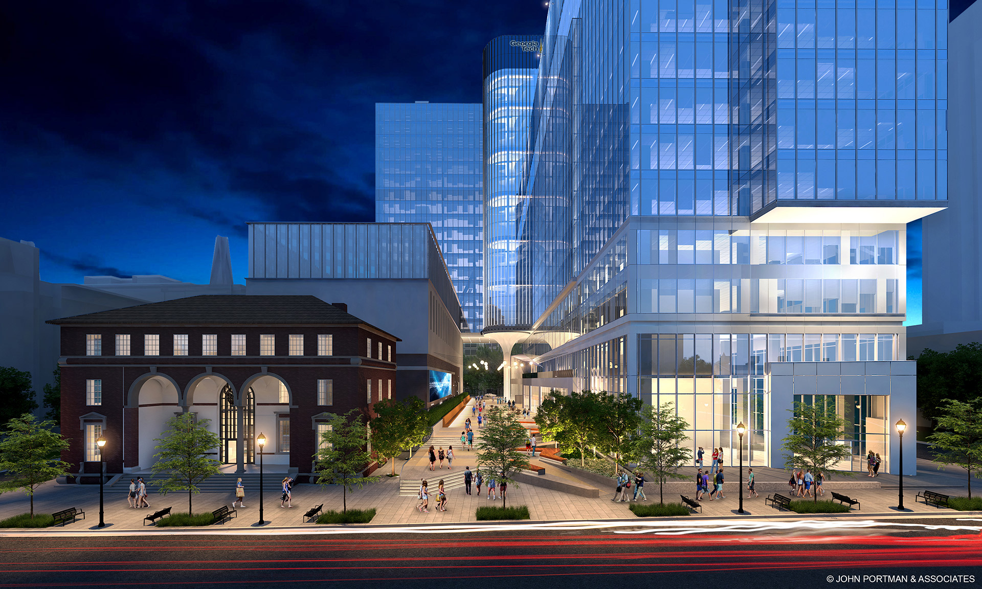 A rendering of the forthcoming Coda mixed-use development.