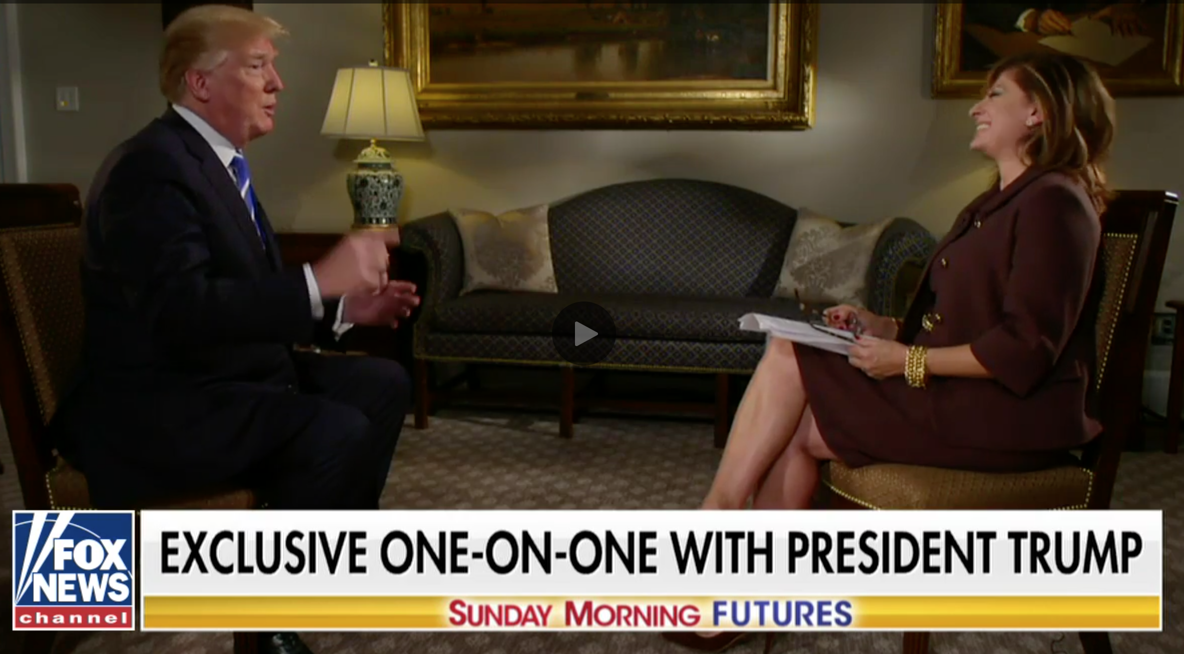 Trump's latest big interview is both funny and terrifying