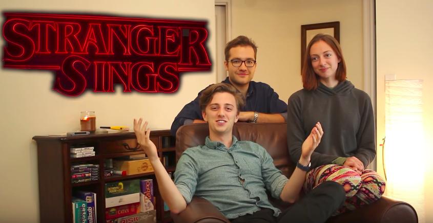 """Stranger Things """"Stranger Sings"""""""
