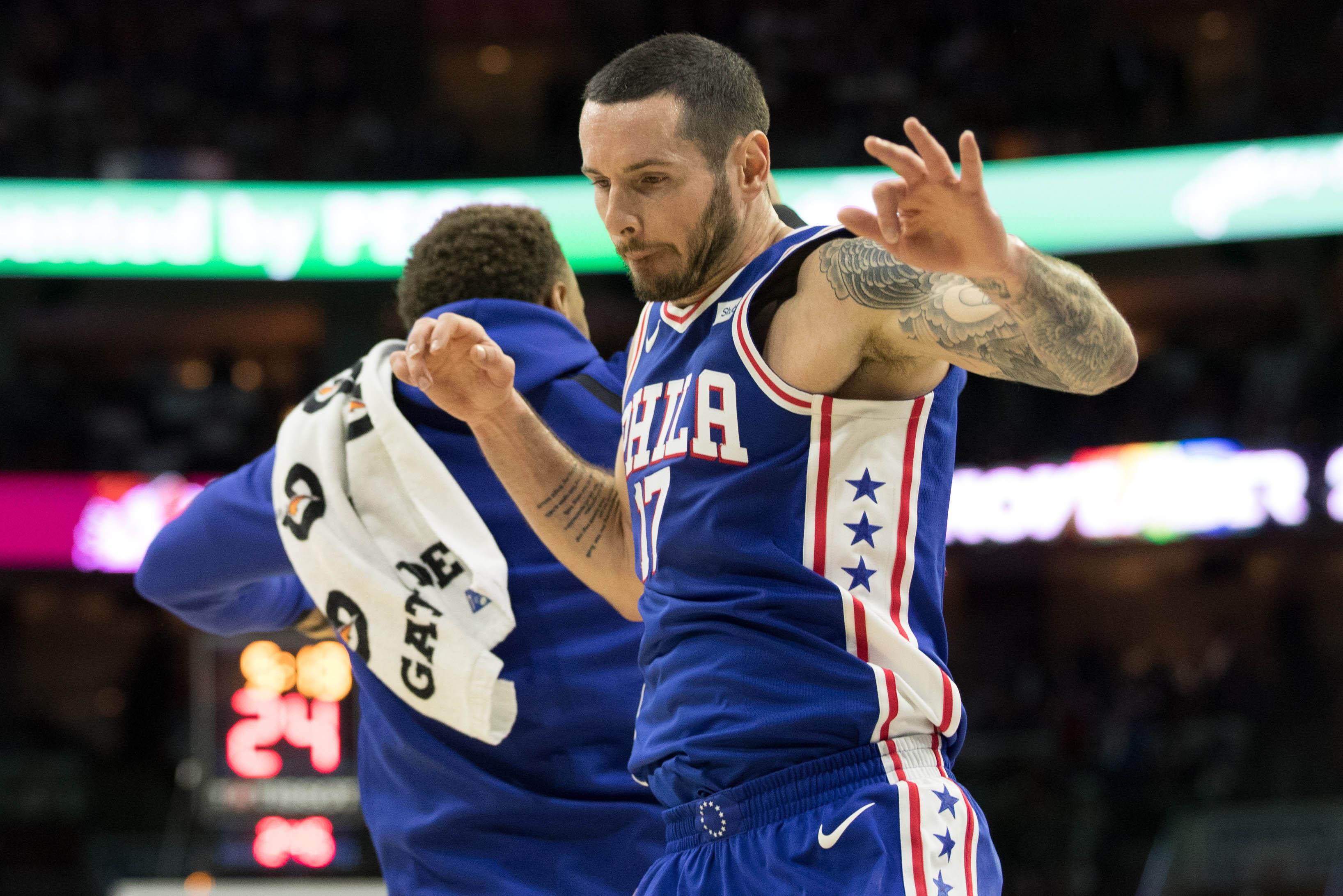 NBA: Boston Celtics at Philadelphia 76ers