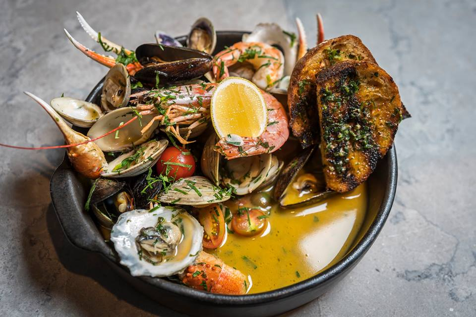 Rye Street Tavern pulls from local waters and farms to build out its menu.