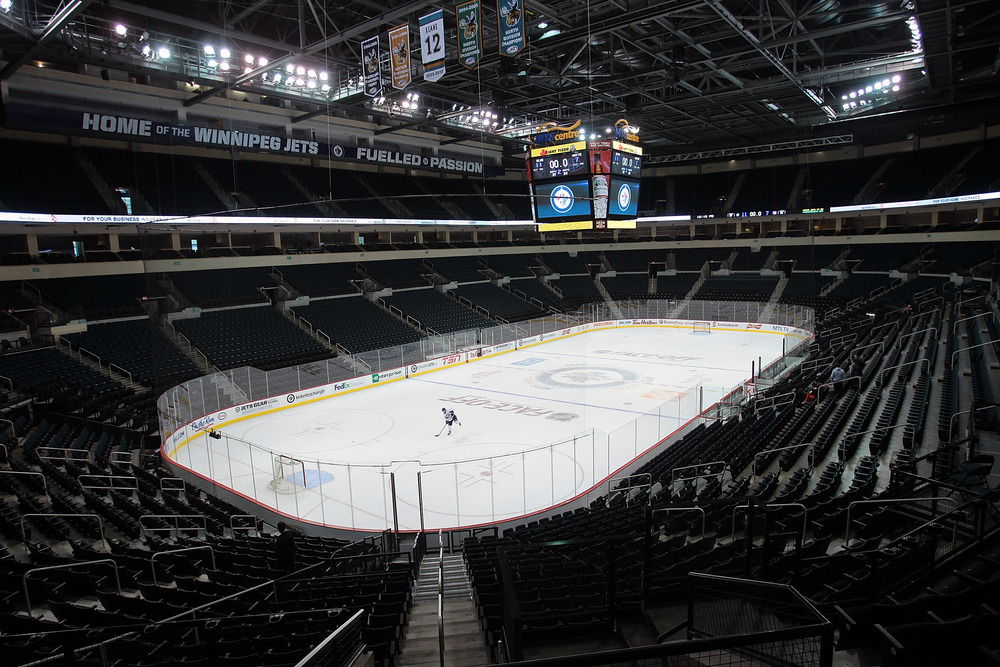 Of course I'll be back at the MTS Centre when the NHL returns.  But I'll won't fully re-invest myself in 2013.