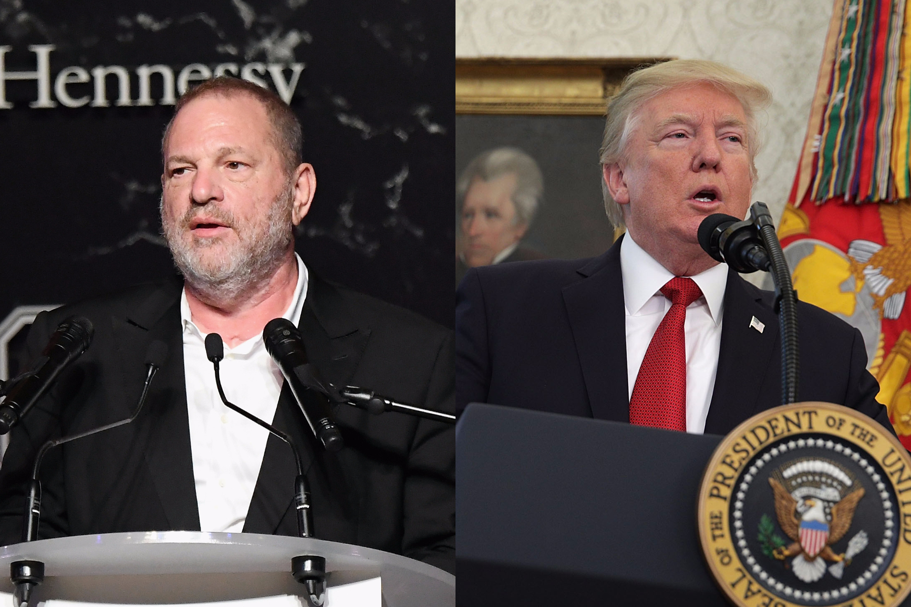 Trump and Weinstein are both on trial. Only one is still considered too powerful to fail.