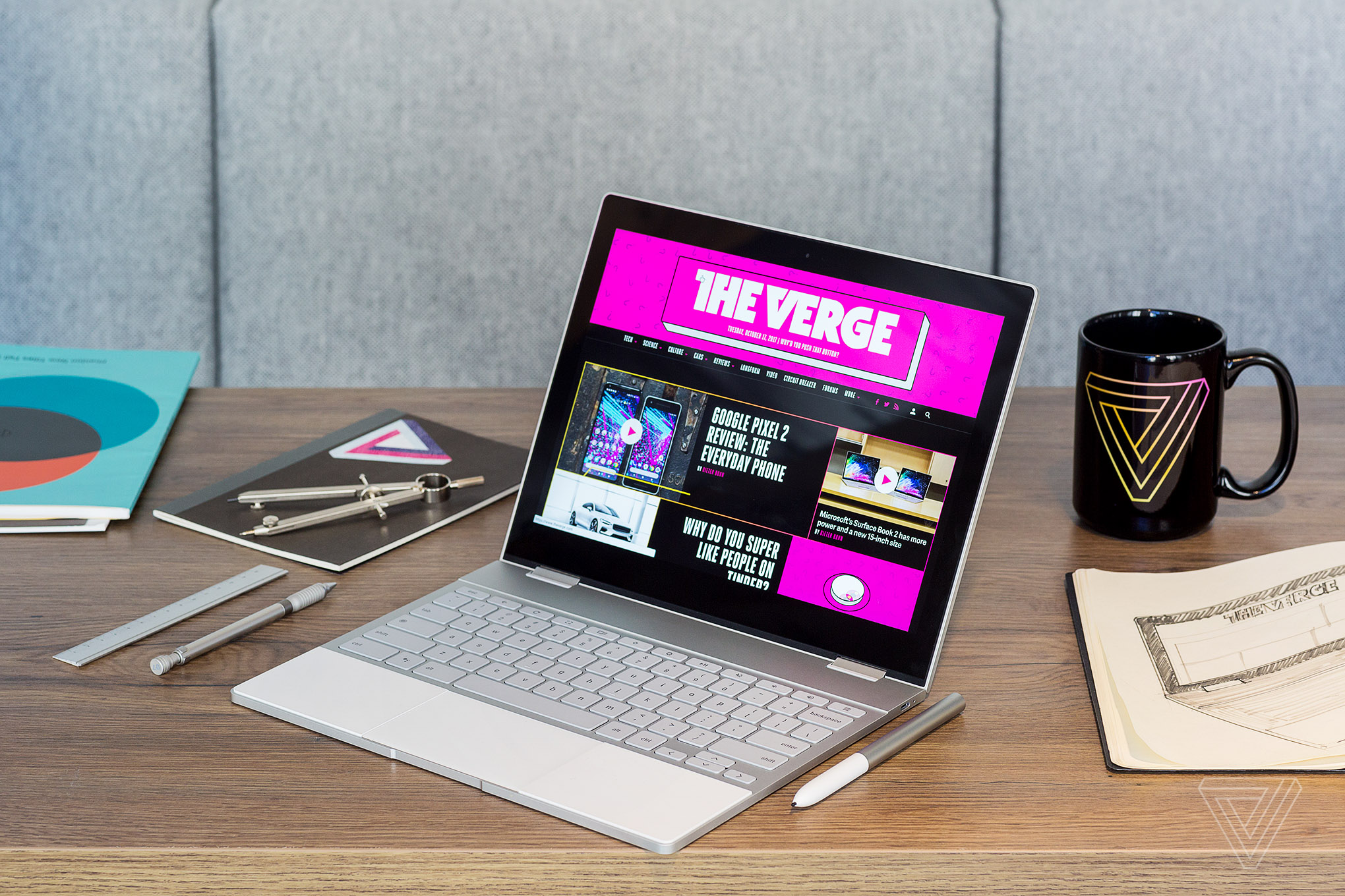 Google Pixelbook Review Emperor Of Chrome The Verge Laptop Power Supply Circuit That Hangs Up In Some