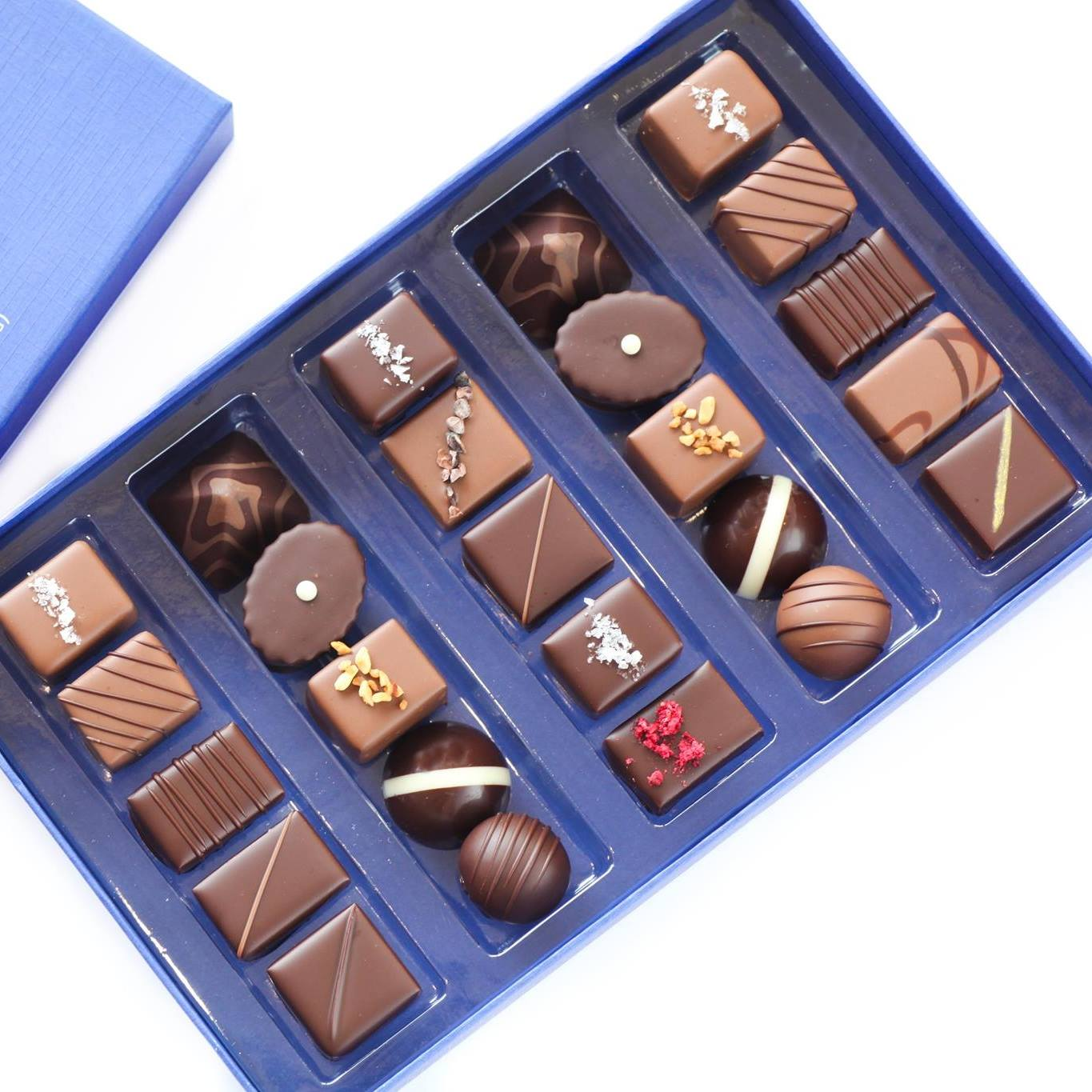 Gift box from Chocolaterie Tessa
