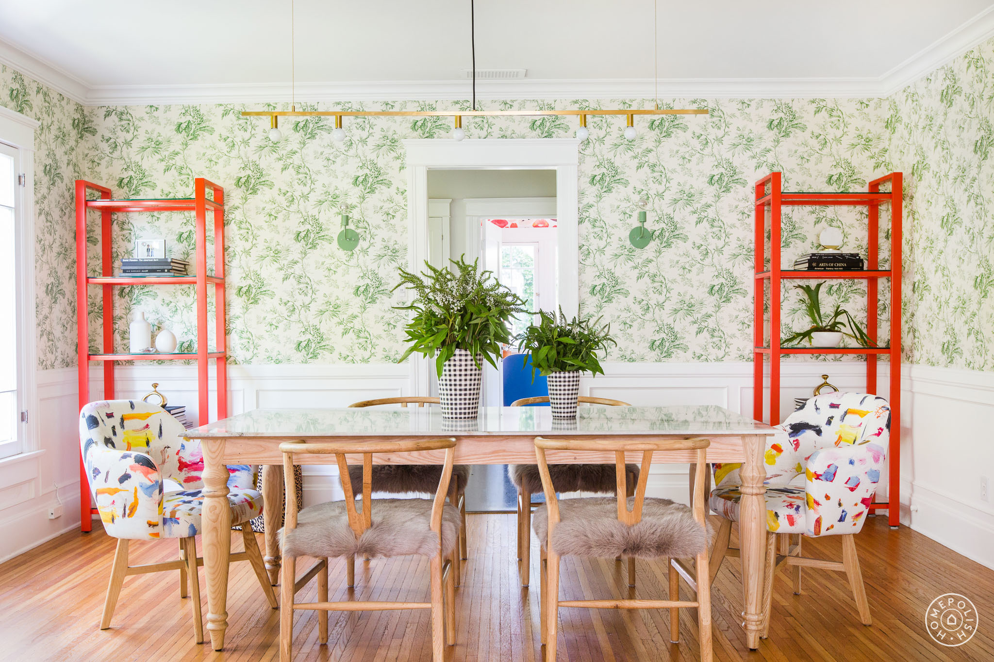 Inside The Colorful Bungalow Of A Handmaids Tale Star And An Orange Is New Black Writer