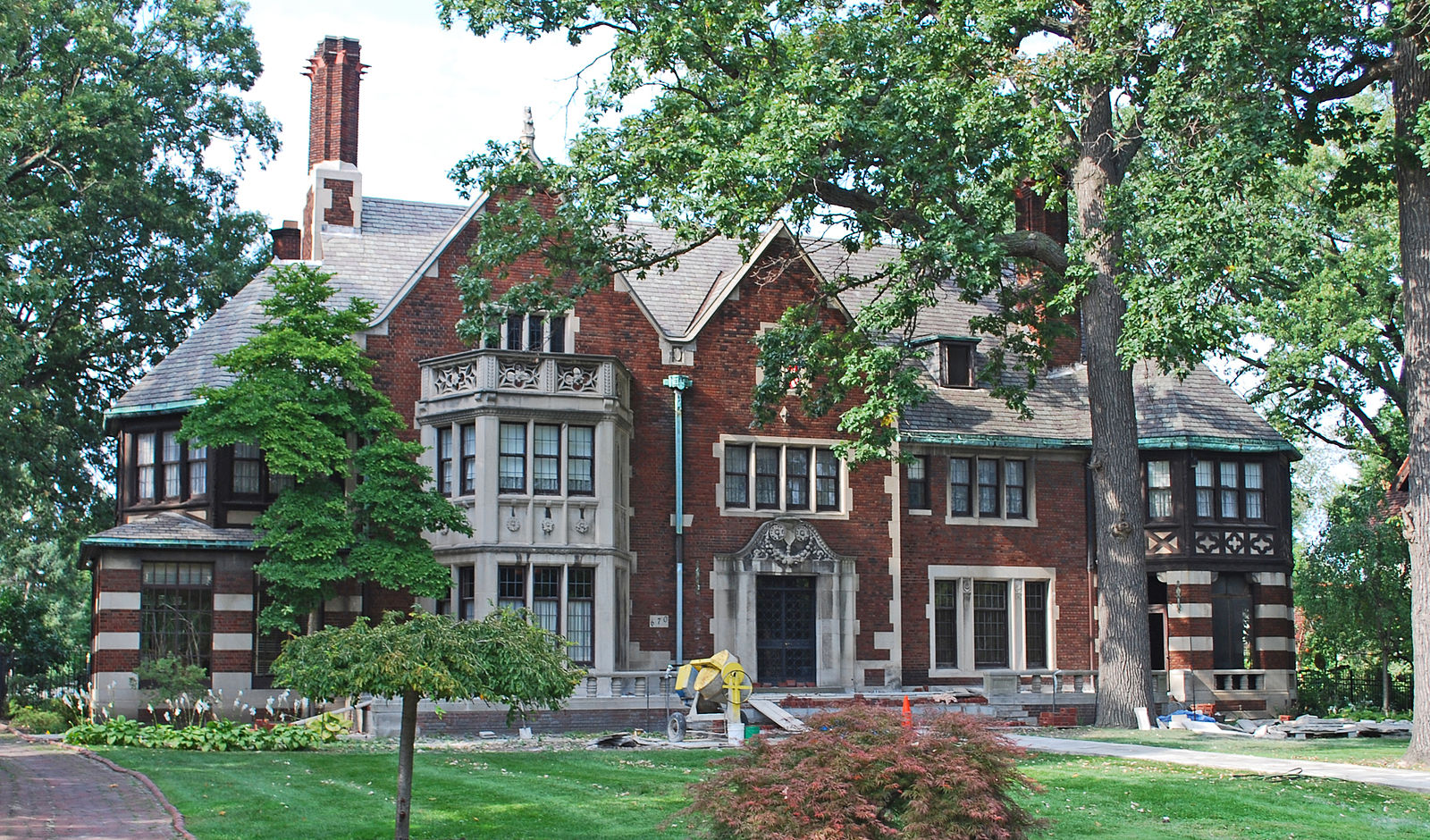 The Charles T. Fisher Mansion to undergo three-year renovation