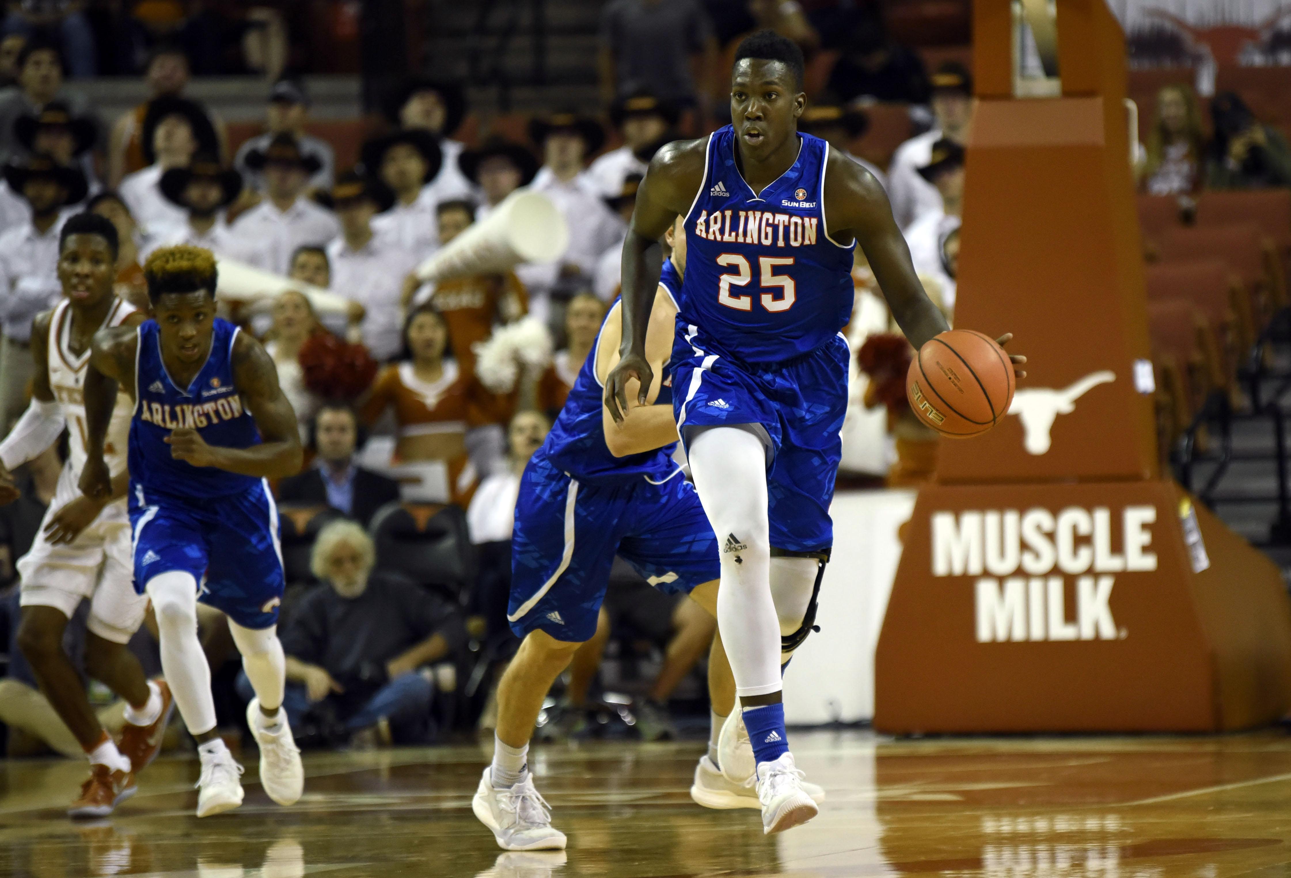 NCAA Basketball: Texas-Arlington at Texas