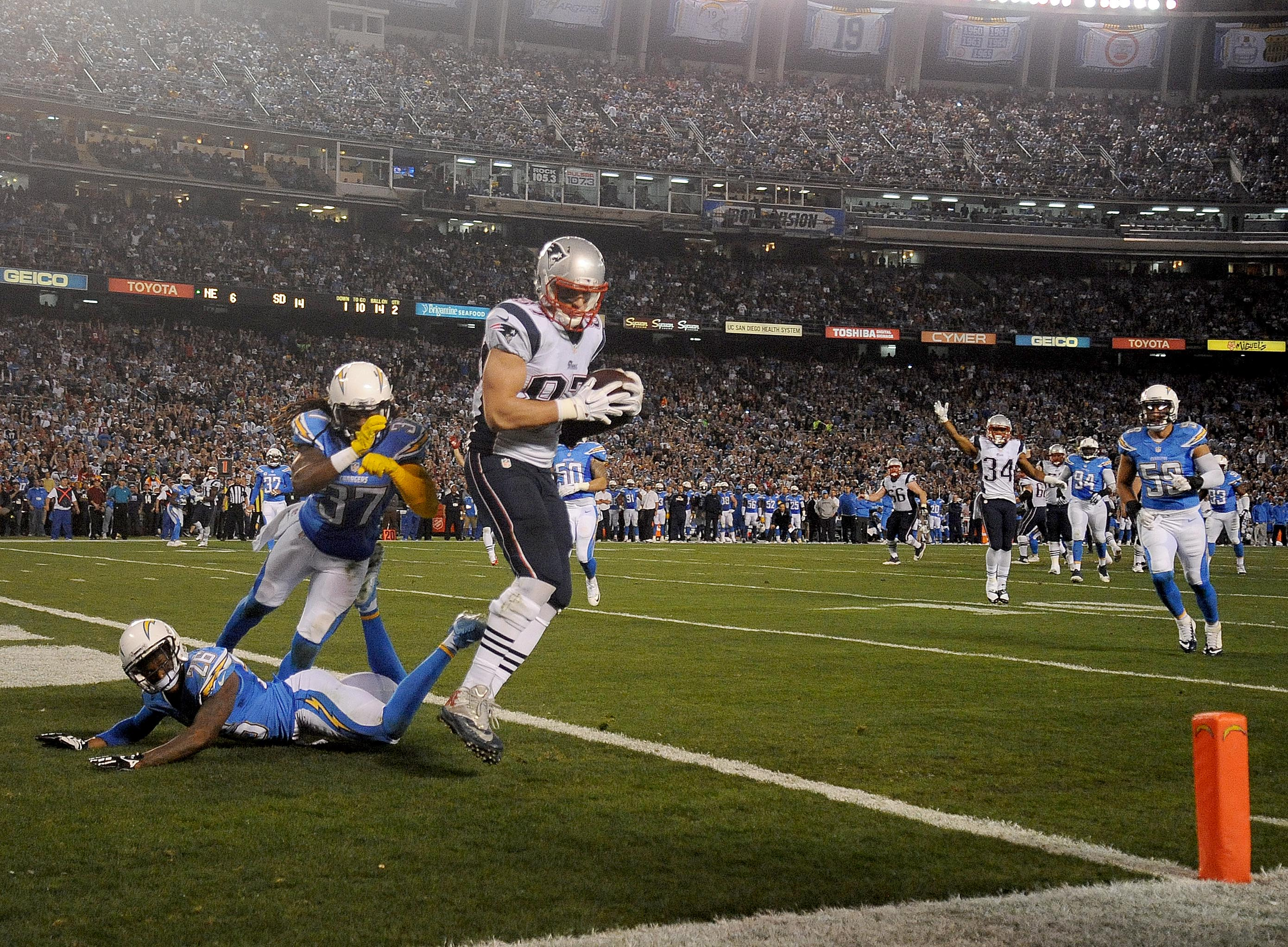 New England Patriots vs San Diego Chargers