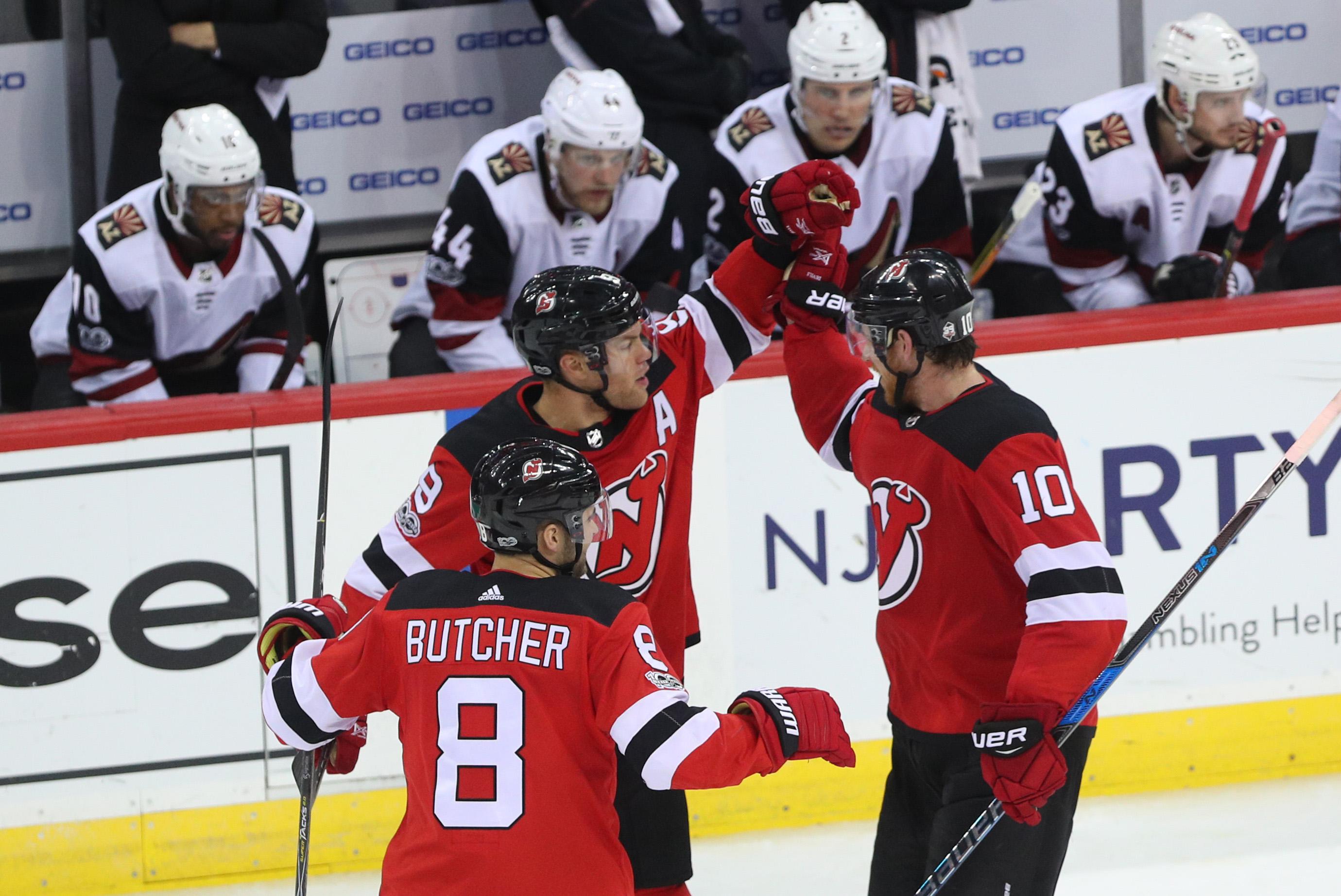 NHL: Arizona Coyotes at New Jersey Devils