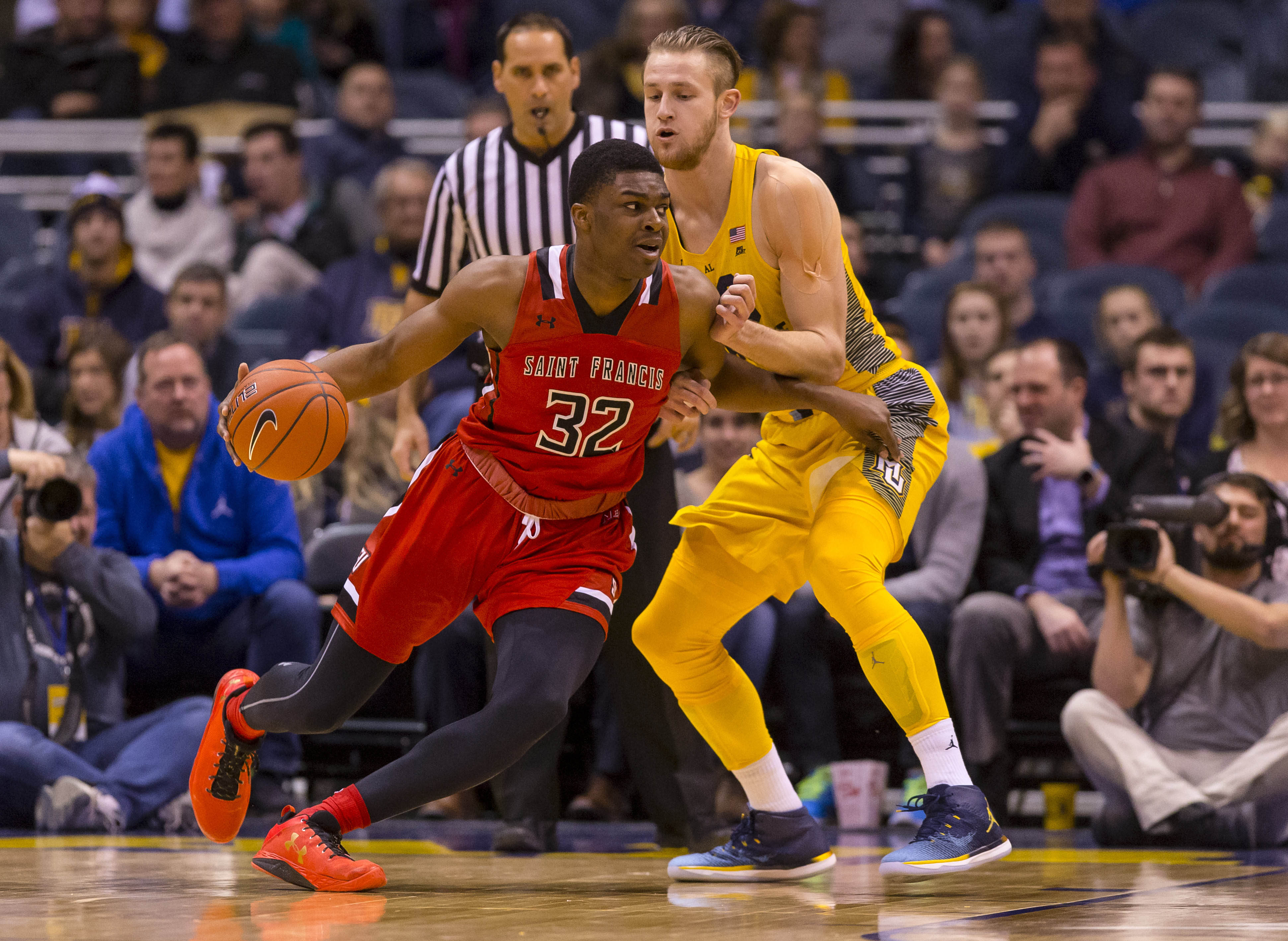 NCAA Basketball: St. Francis (PA) at Marquette