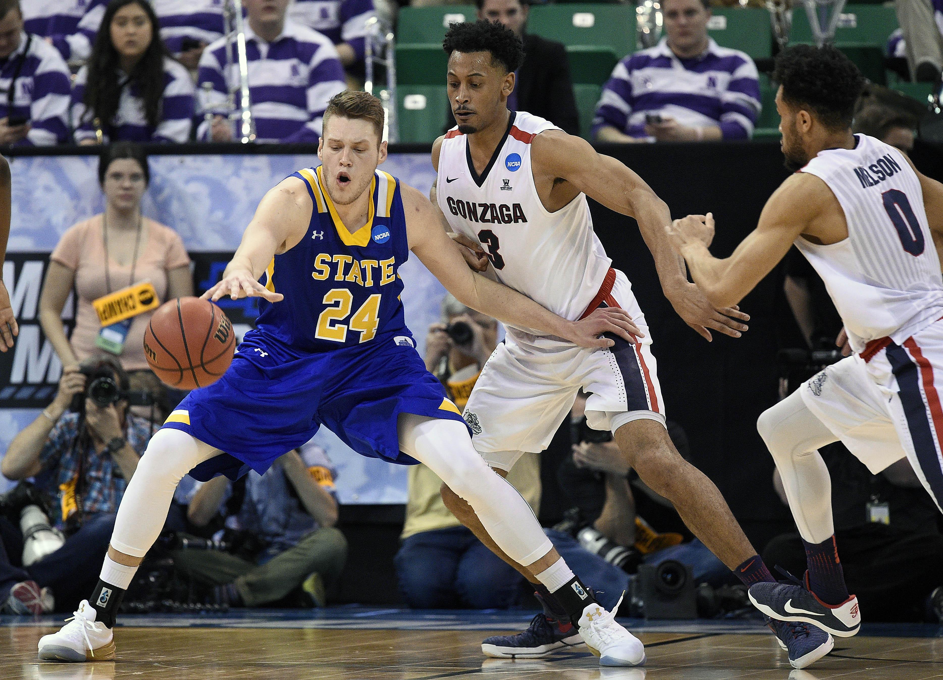 NCAA Basketball: NCAA Tournament-First Round-Gonzaga vs South Dakota State