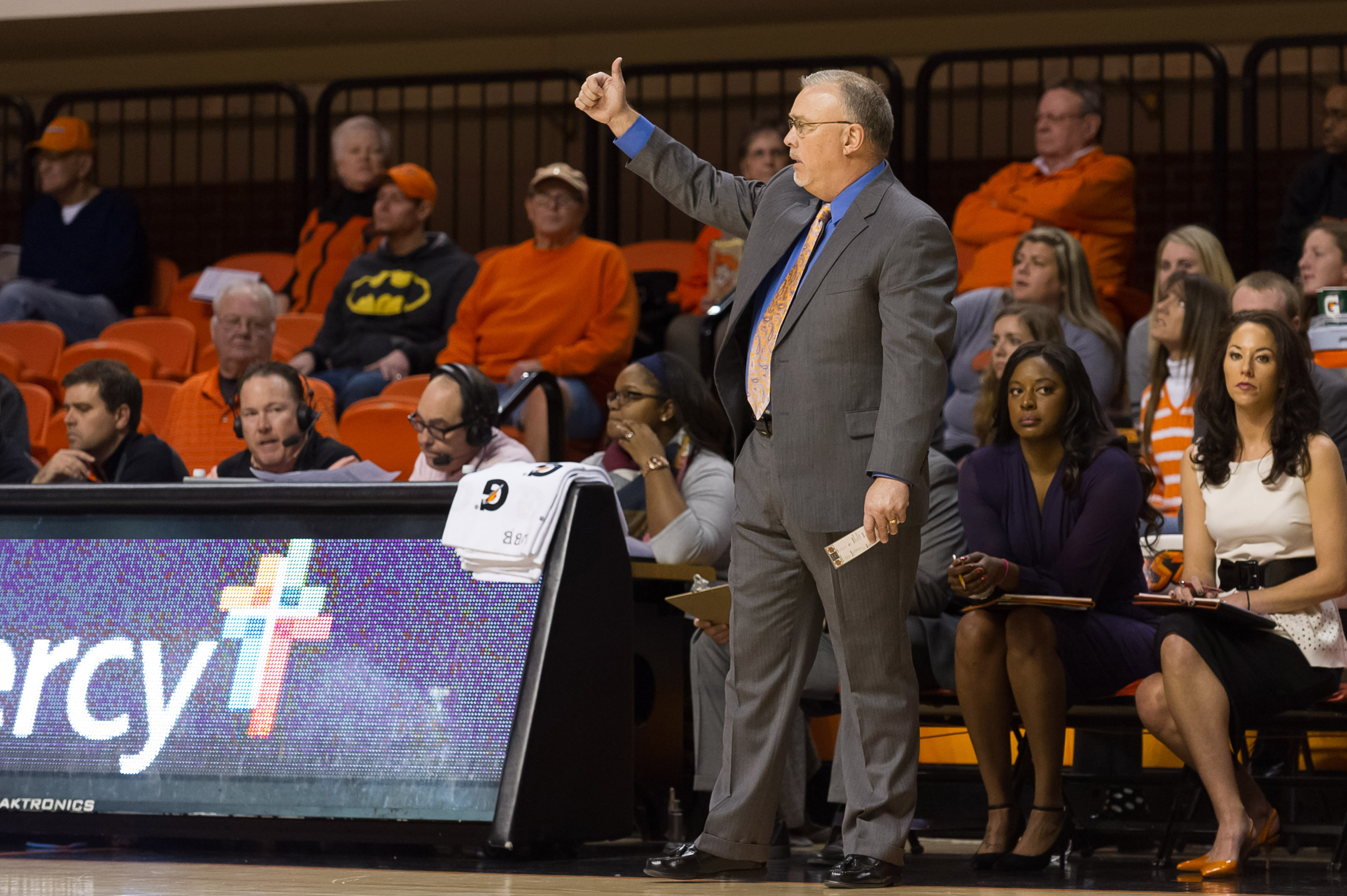 NCAA Womens Basketball: Baylor at Oklahoma State
