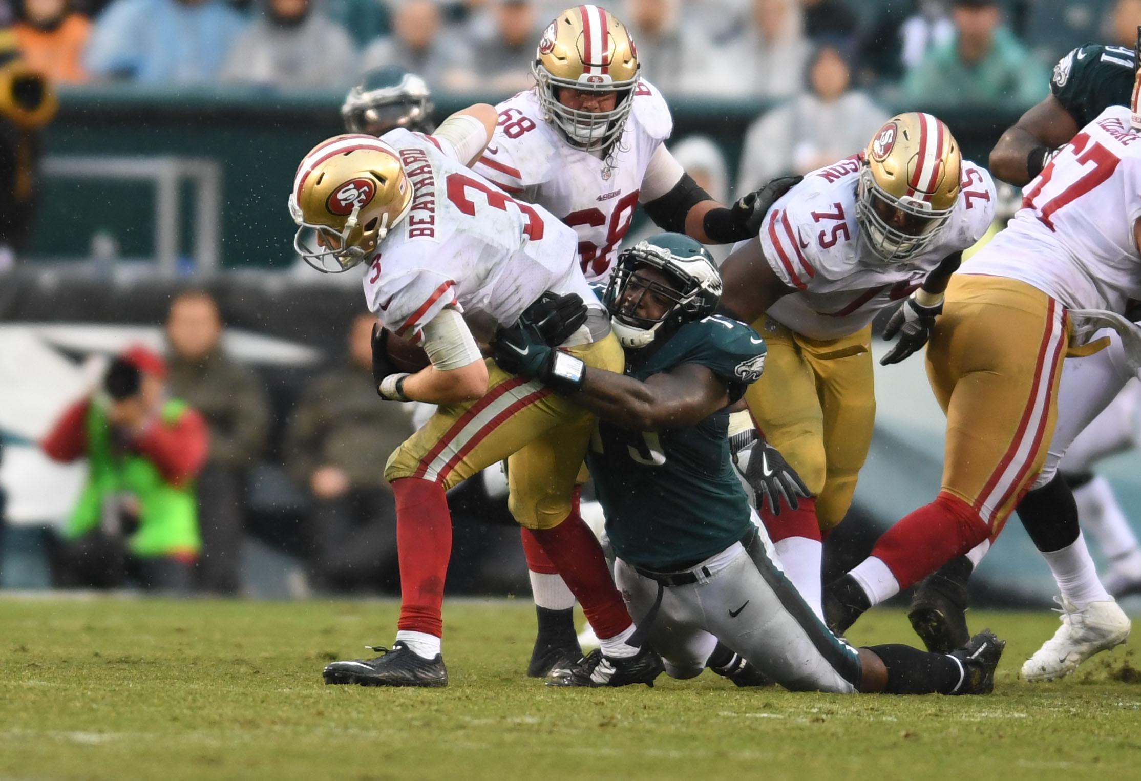 NFL: San Francisco 49ers at Philadelphia Eagles