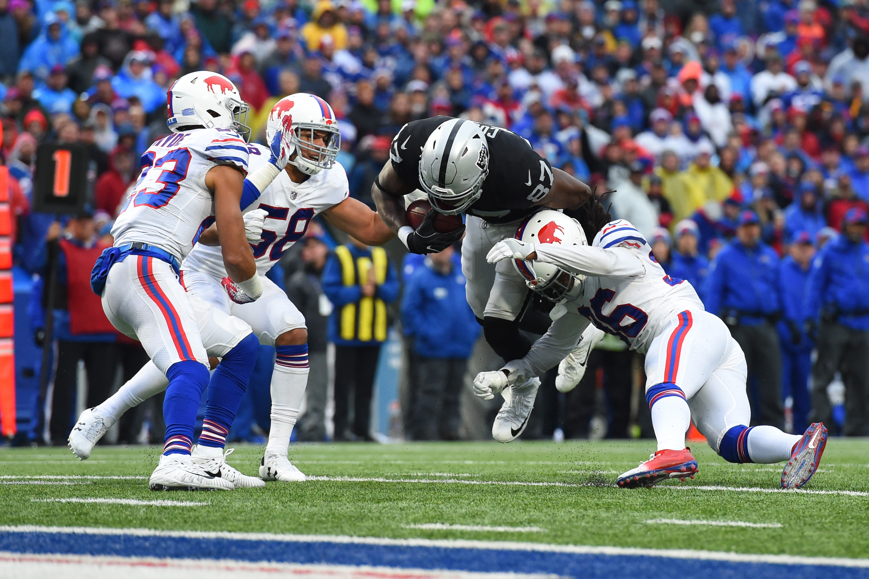 NFL: Oakland Raiders at Buffalo Bills