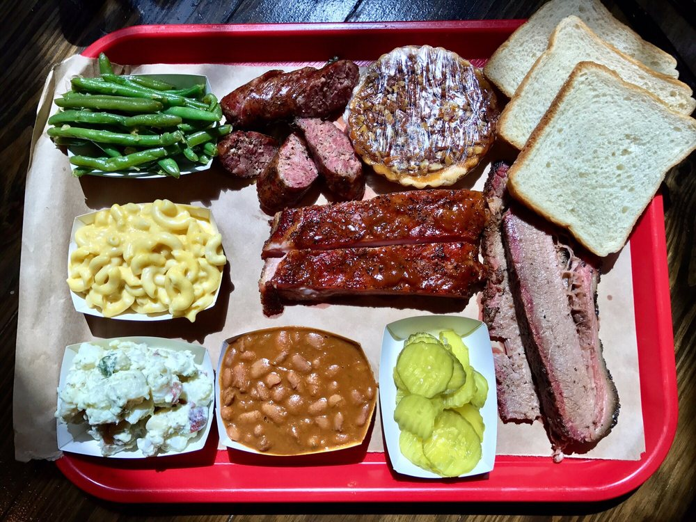 Barbecue from Terry Black's Barbecue