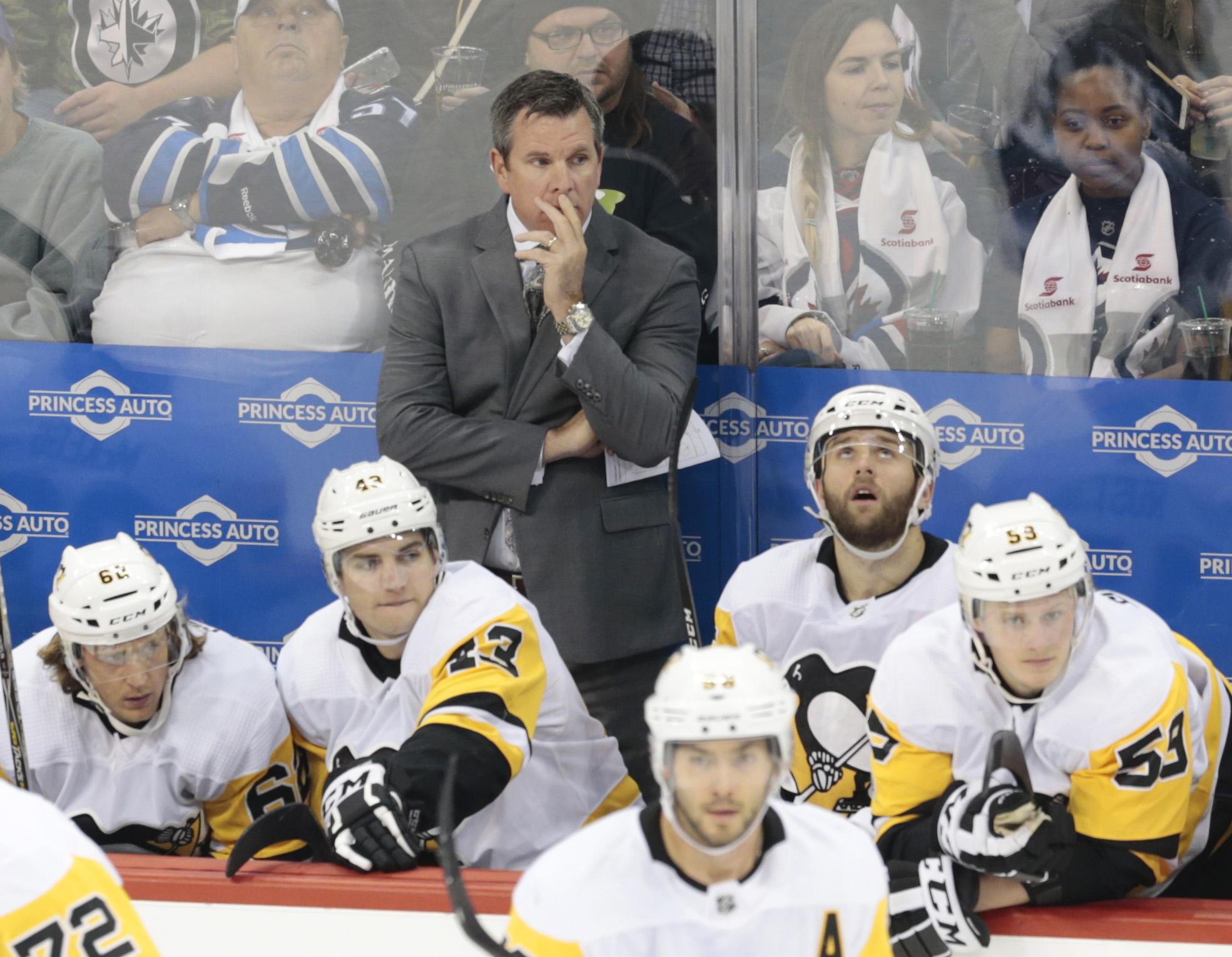 NHL: Pittsburgh Penguins at Winnipeg Jets