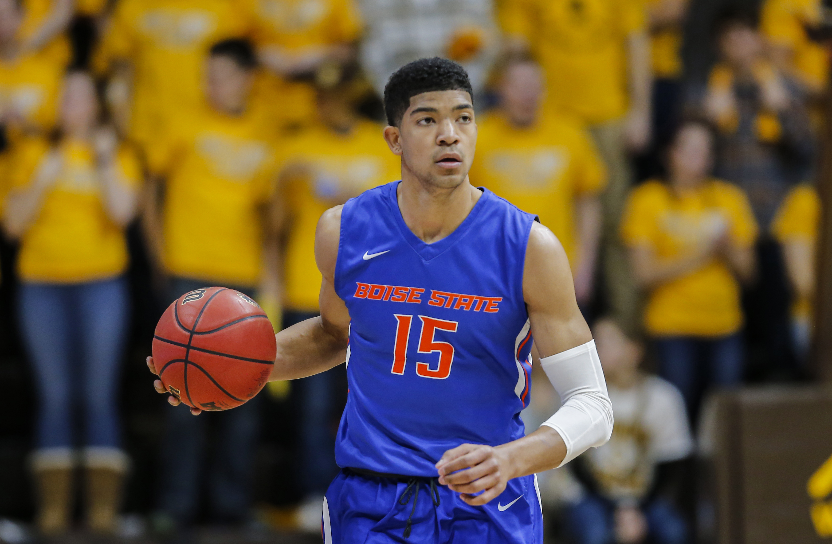 NCAA Basketball: Boise State at Wyoming