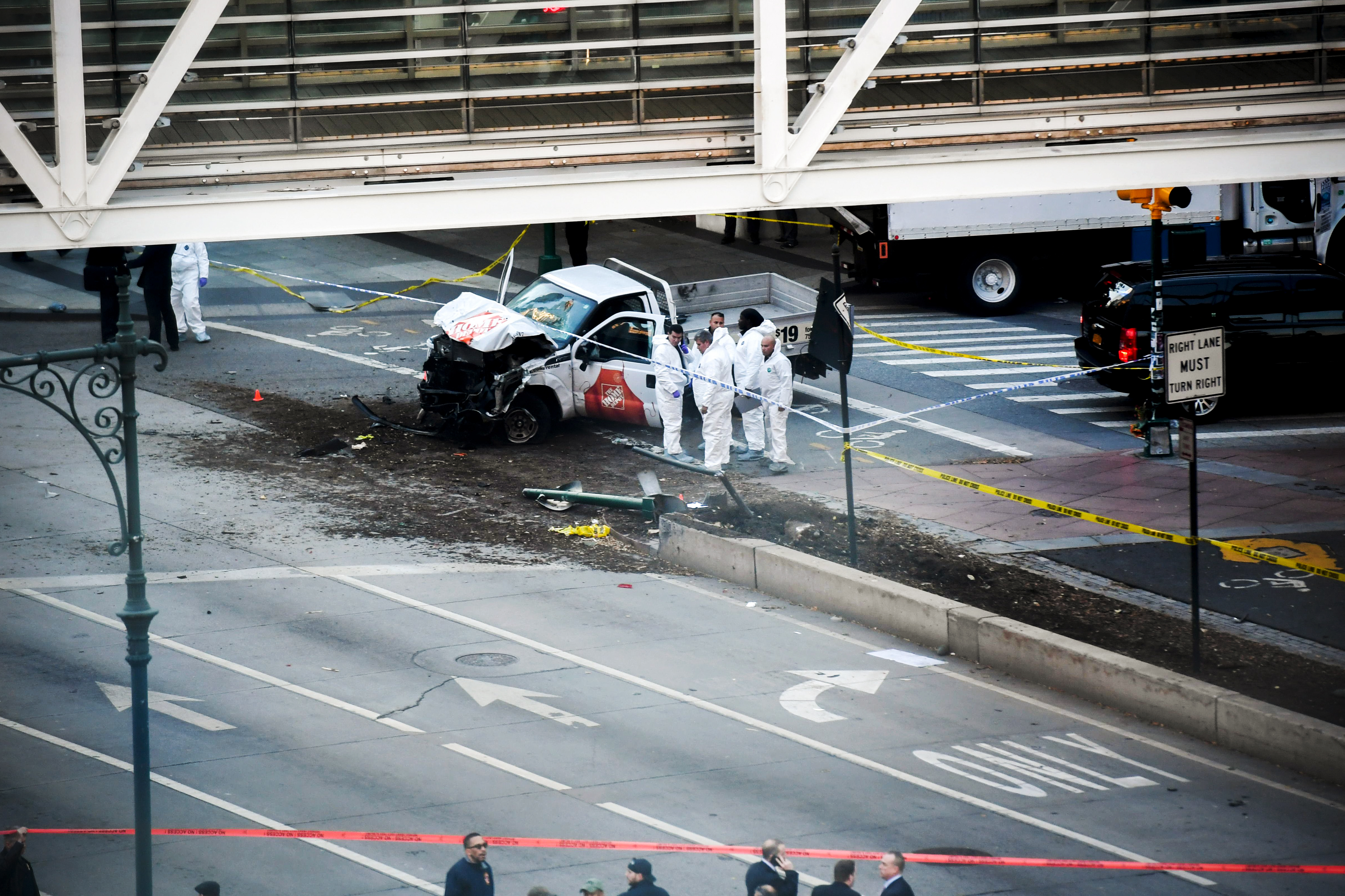 The New York attack shows why trucks are now the terrorist weapon of choice