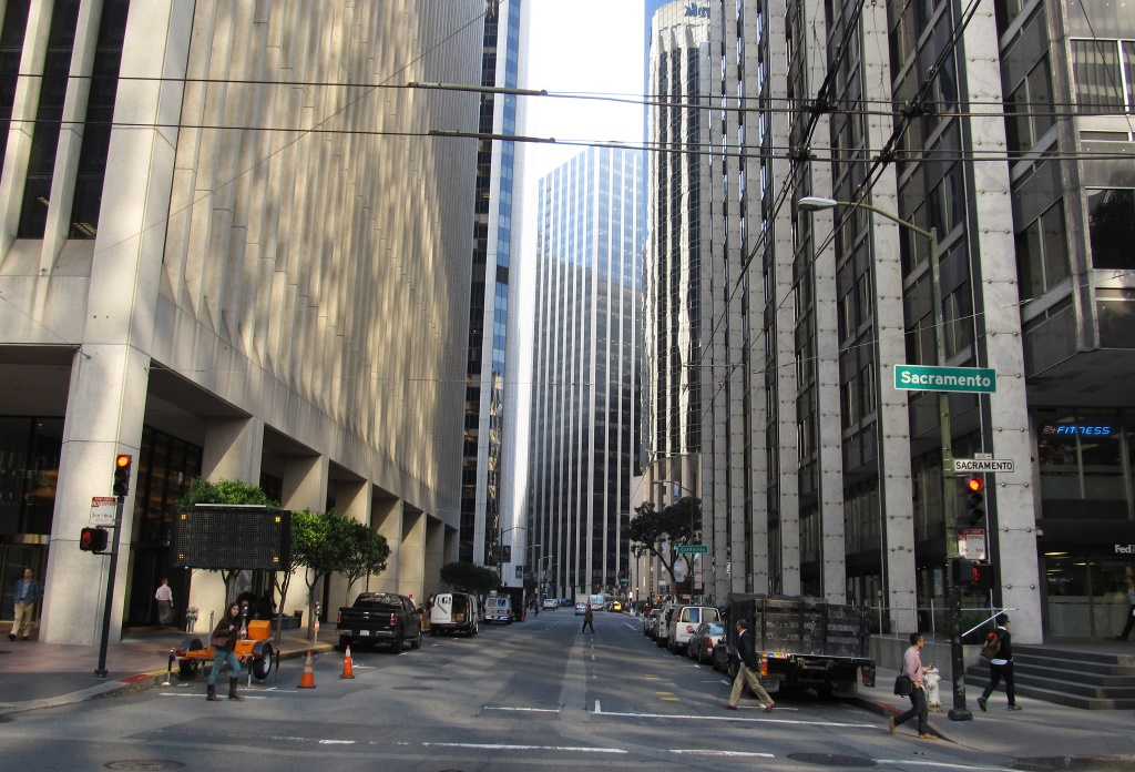 Buildings in the Financial District