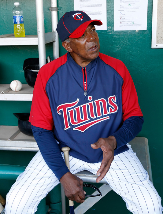 I got to talk to Tony Oliva once. That was cool.