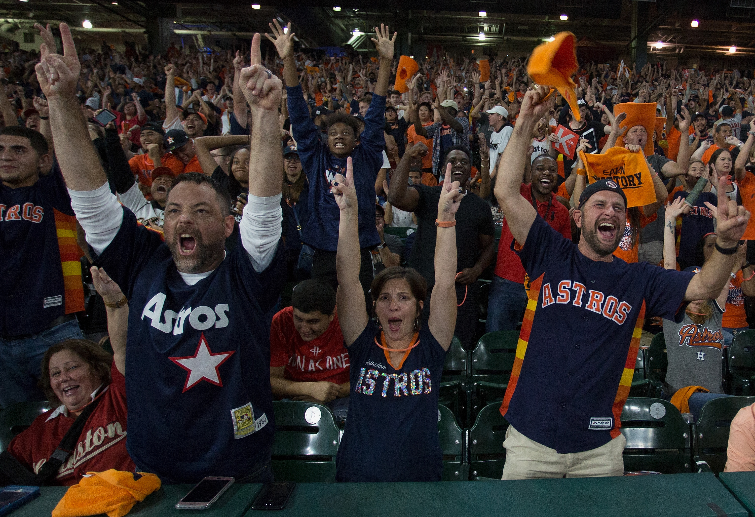 Houston Astros World Series Watch Party