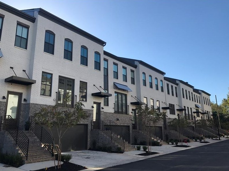 A sample photo of new townhomes coming to Edgewood Atlanta.