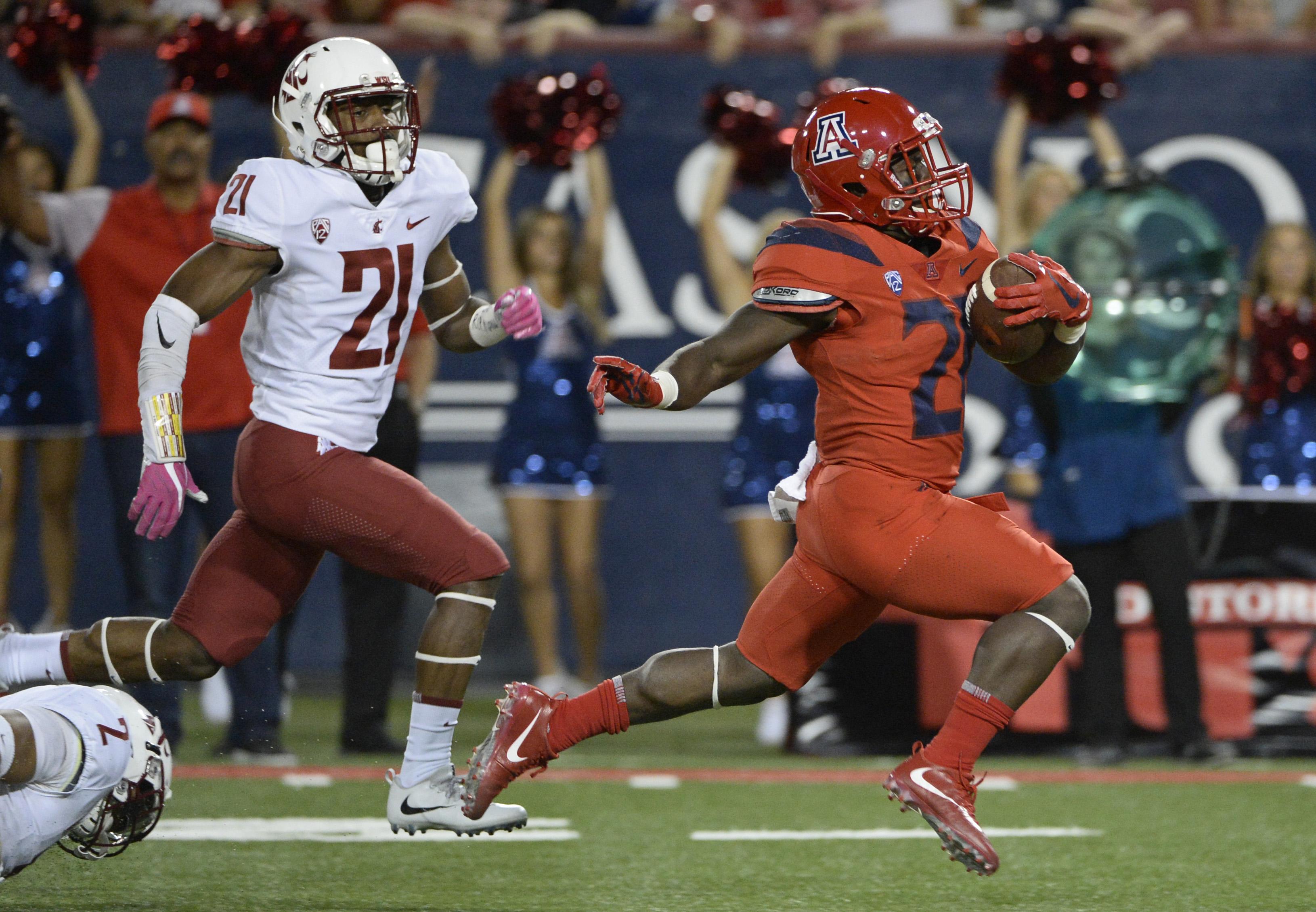 NCAA Football: Washington State at Arizona