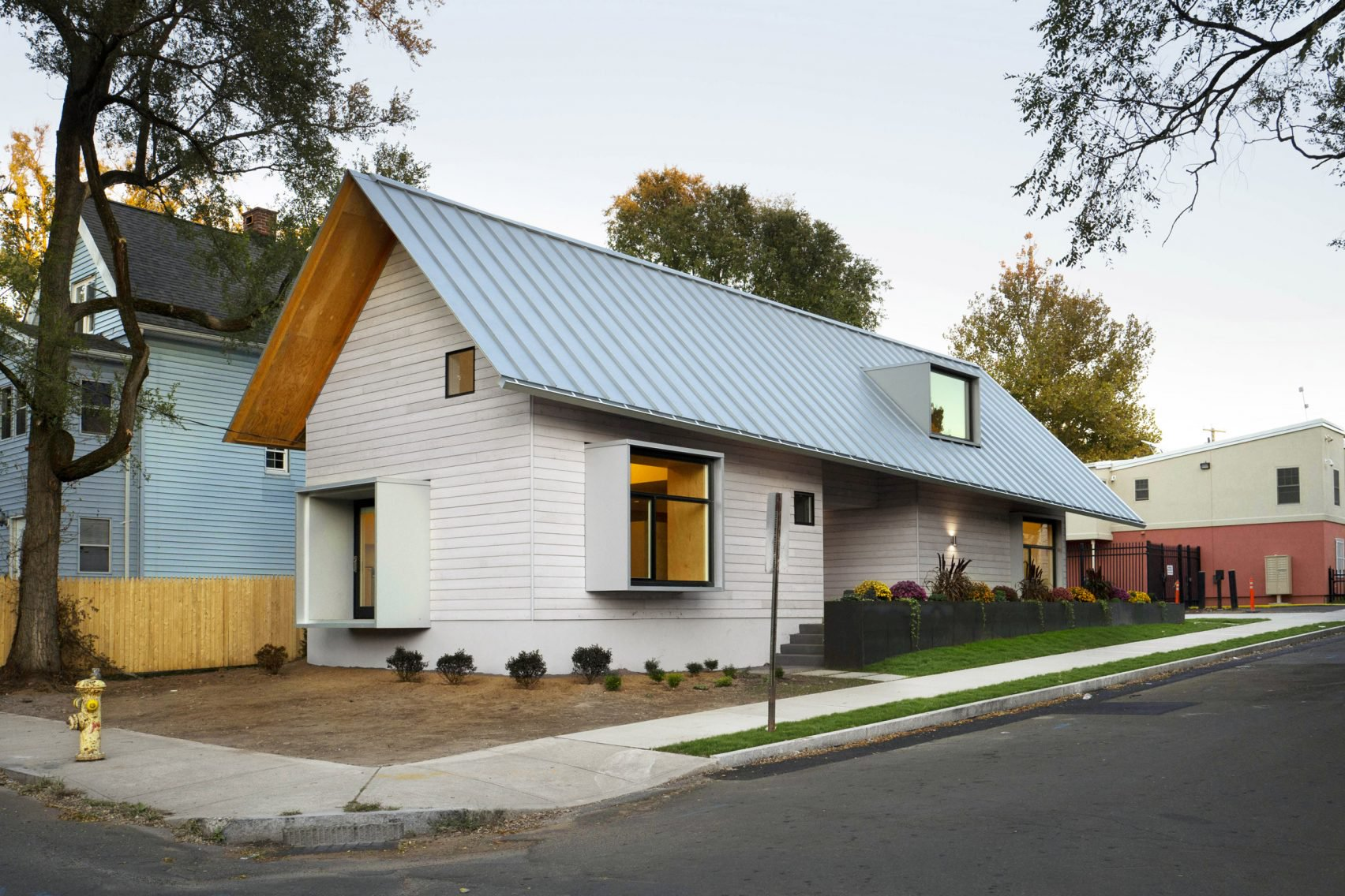 This prefab home for the homeless was designed by architecture students : what-is-a-prefab-home - designwebi.com