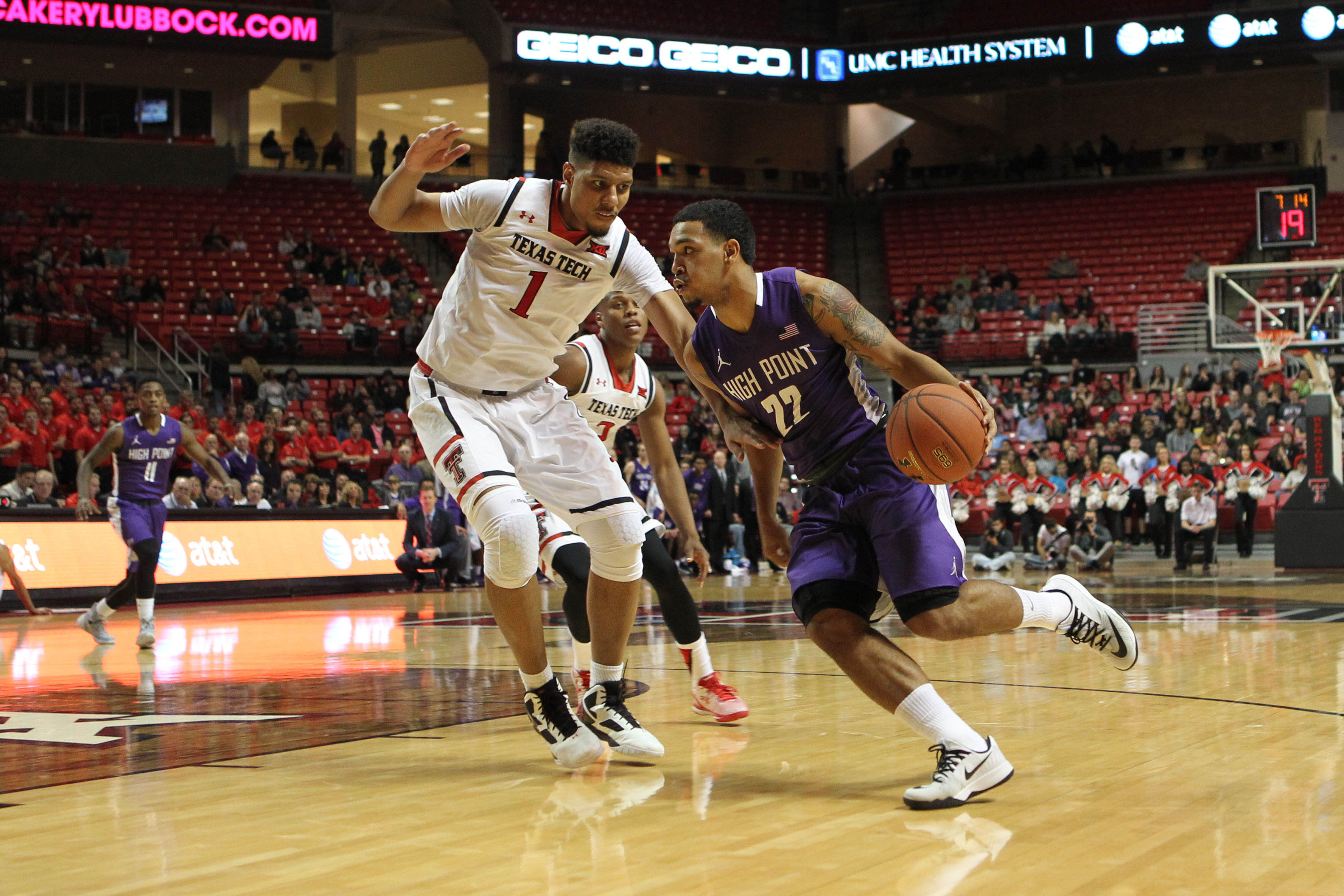 NCAA Basketball: High Point at Texas Tech