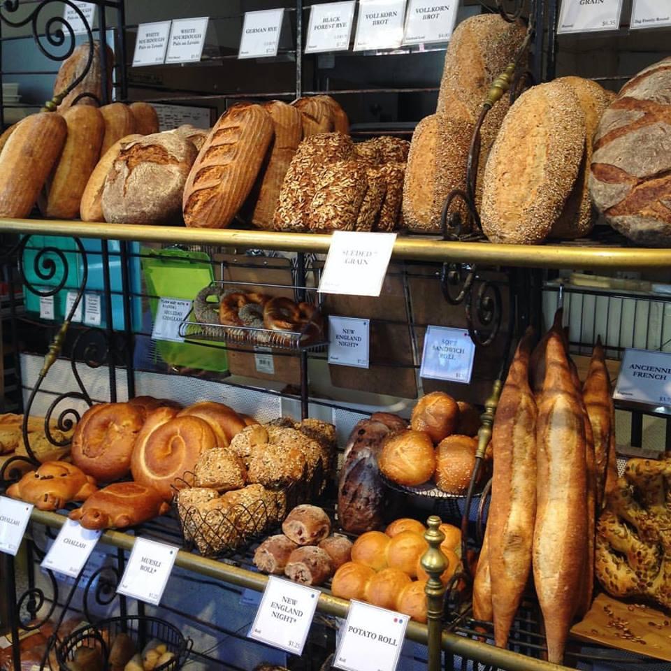 Clear Flour Bread rack