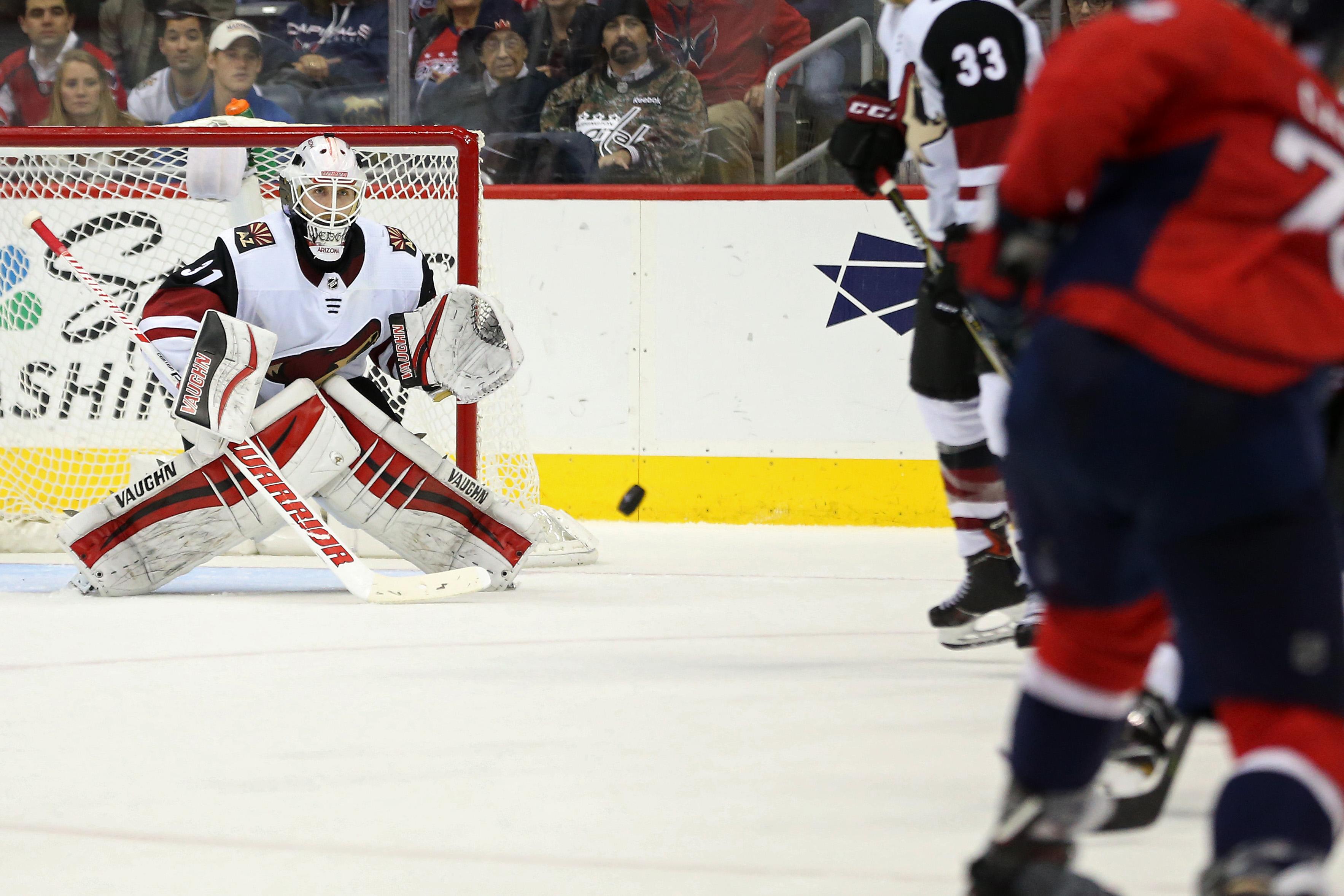 NHL: Arizona Coyotes at Washington Capitals