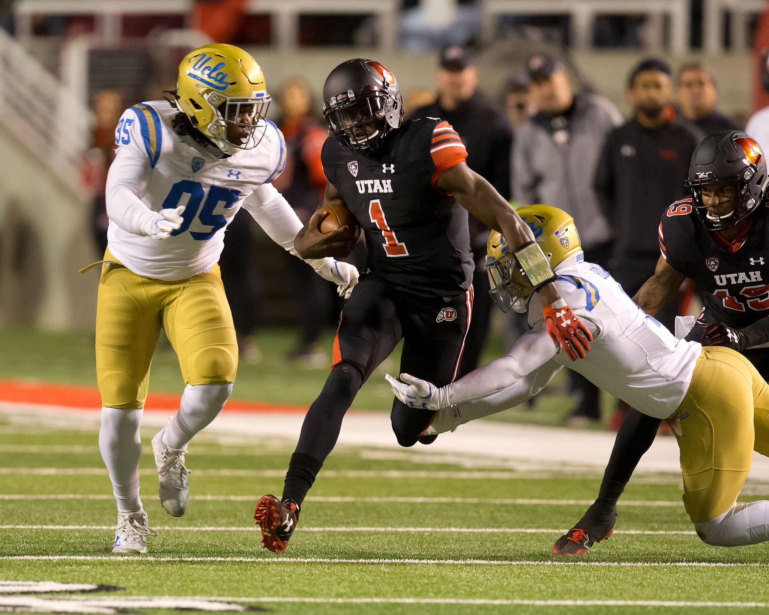 NCAA Football: UCLA at Utah