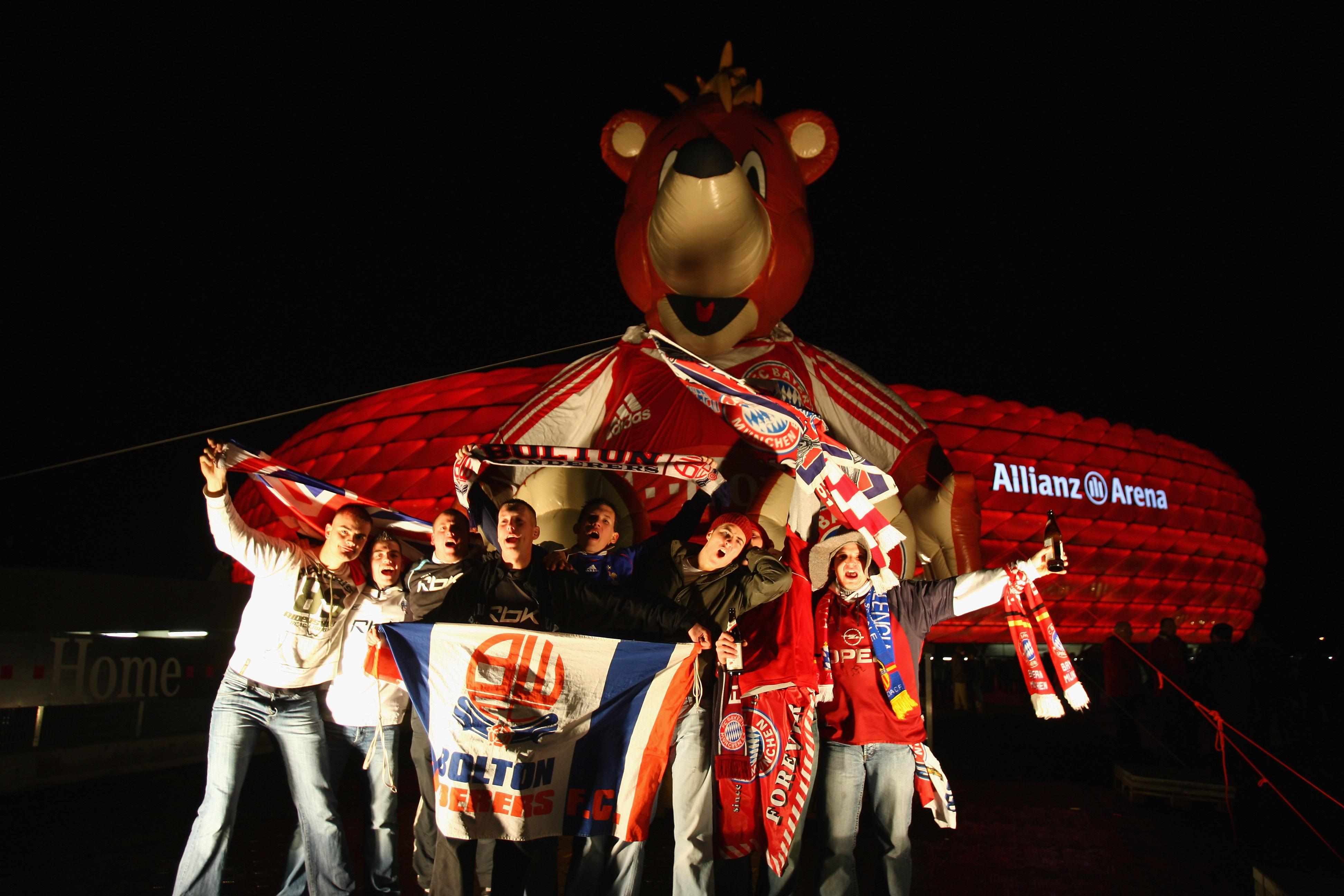 Bayern Munich v Bolton Wanderers -UEFA Cup