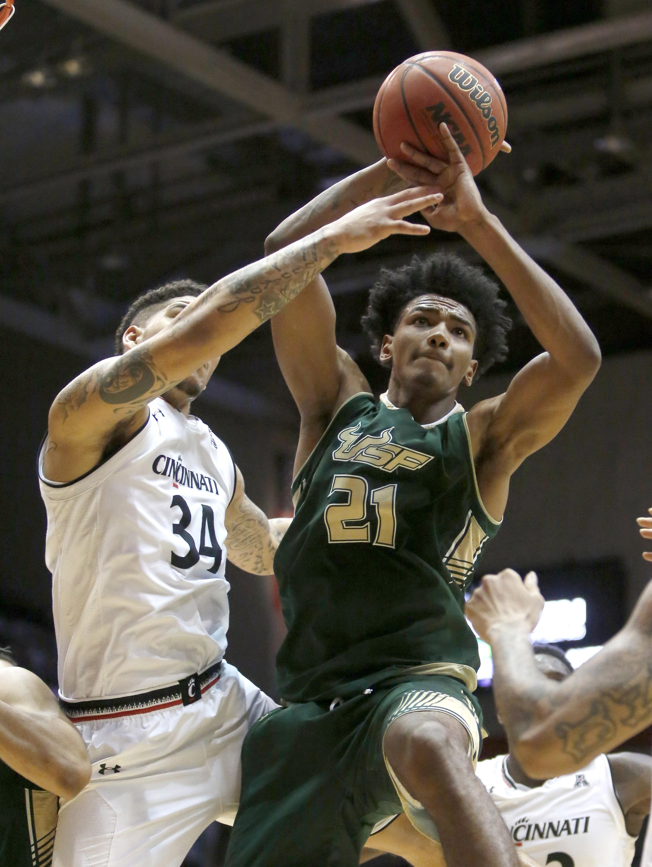 NCAA Basketball: South Florida at Cincinnati