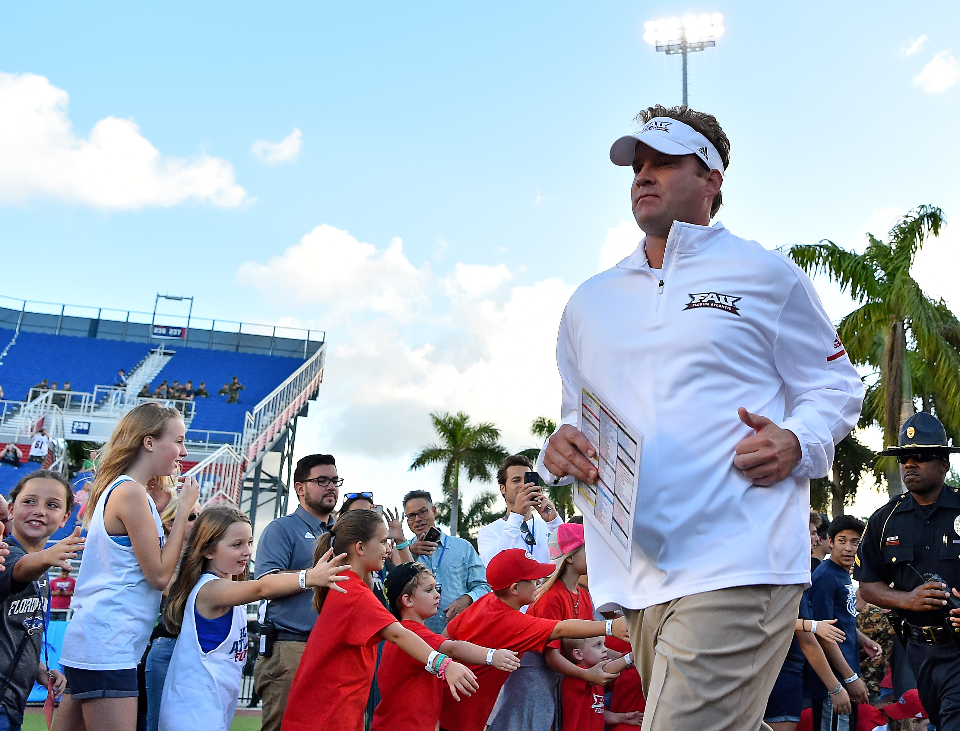 NCAA Football: Marshall at Florida Atlantic