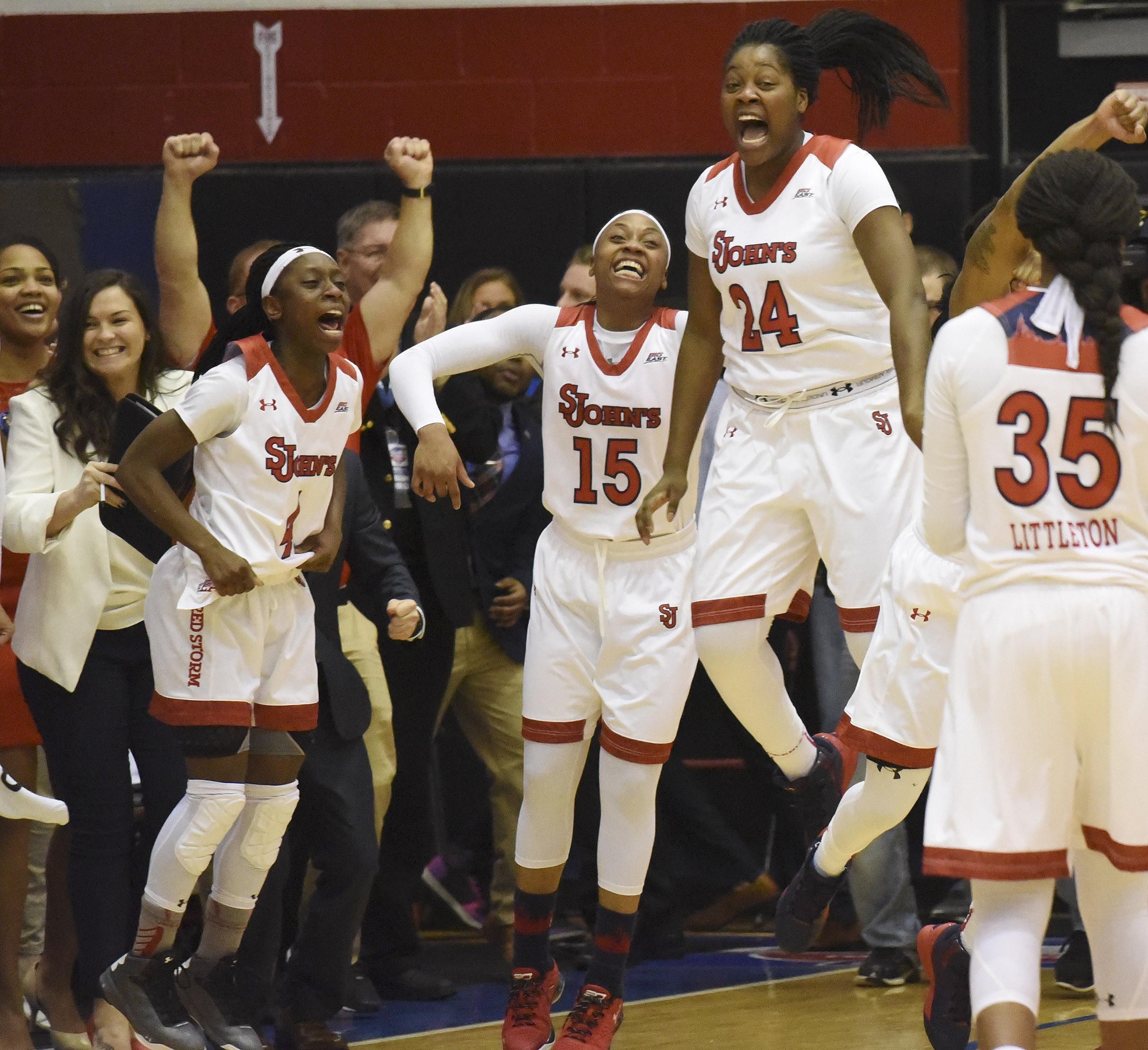 NCAA Womens Basketball: Big East Conference Tournament-Creighton vs St. John's