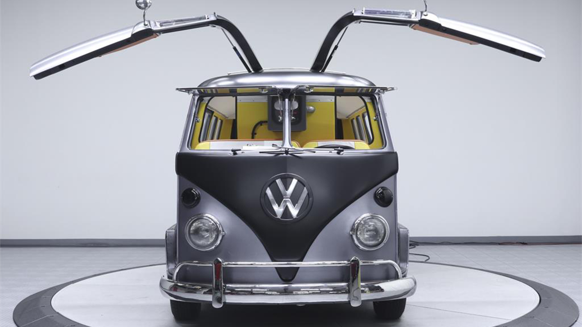 1199e4beb9 1967 VW van gets a  Back To The Future  makeover - Curbed