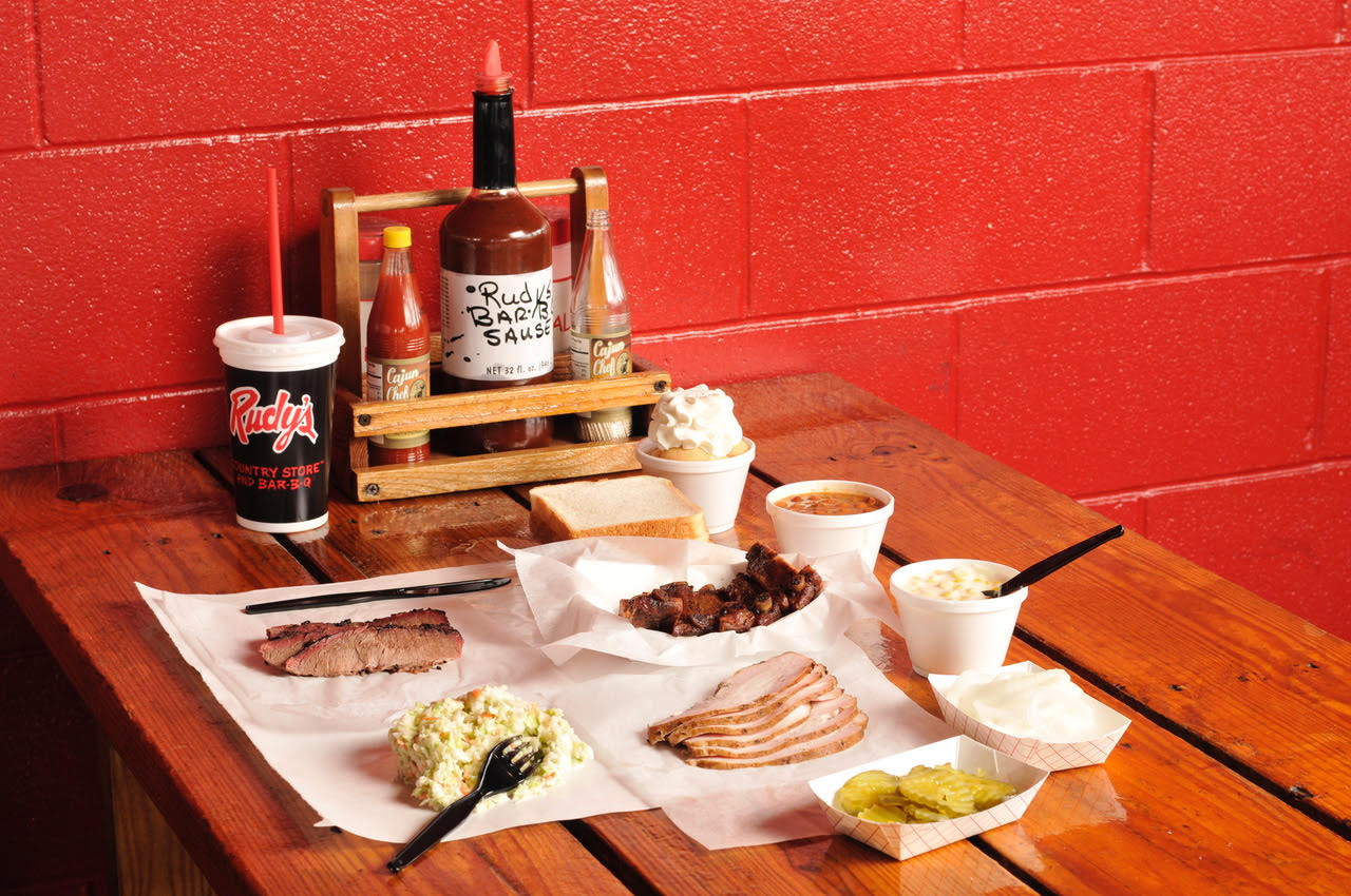 Barbecue from Rudy's Bar-B-Q