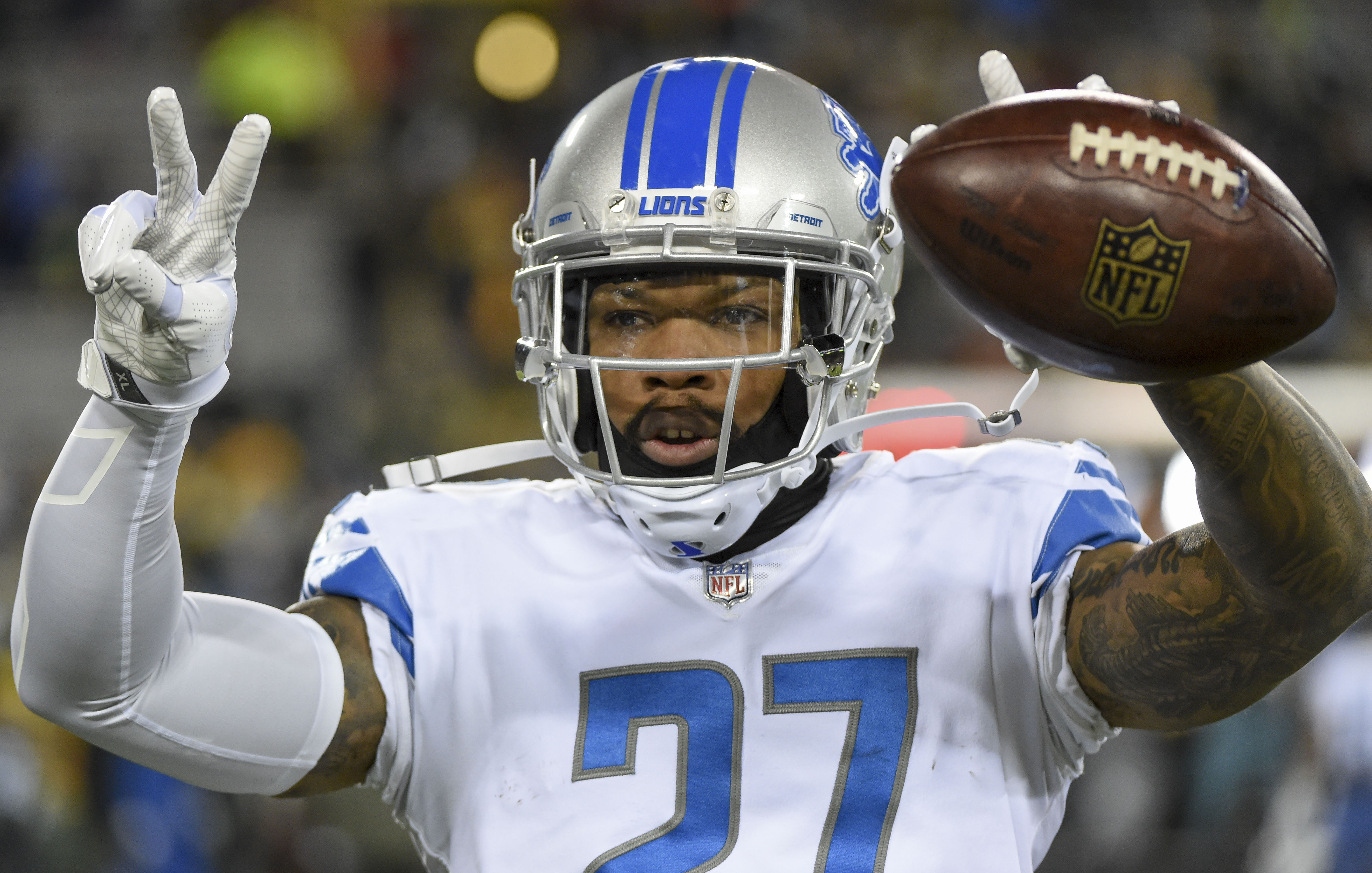 c8d212e76 ... Notes Several Lions make midseason all-pro teams 2017 Week 8 Steelers  ...